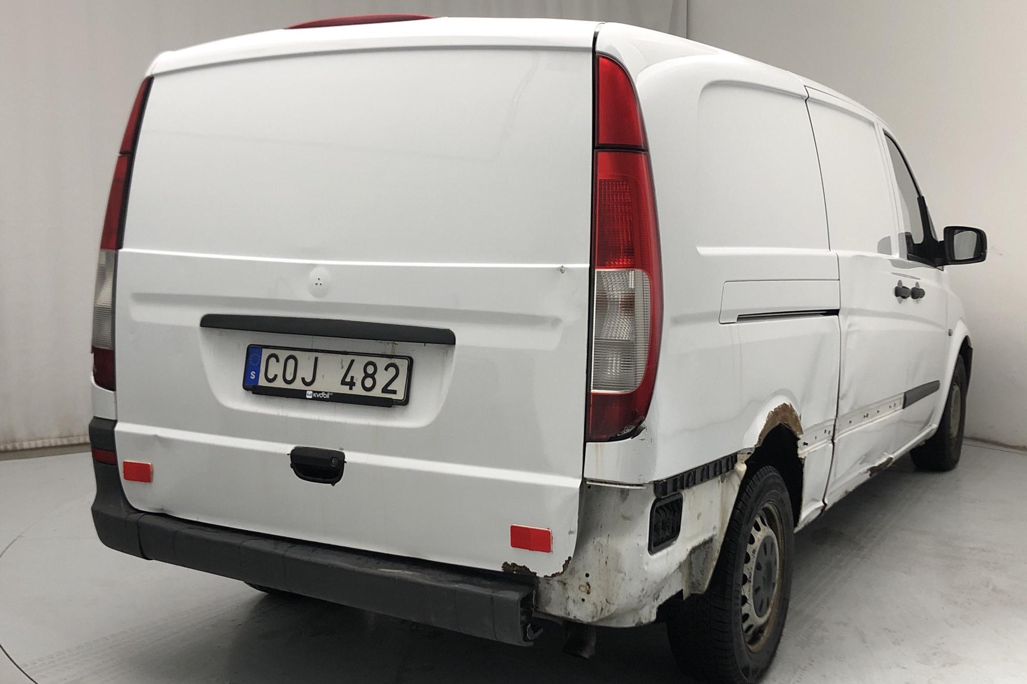 Mercedes Vito 113 CDI W639 (136hk) - 239 650 km - Automatic - white - 2013