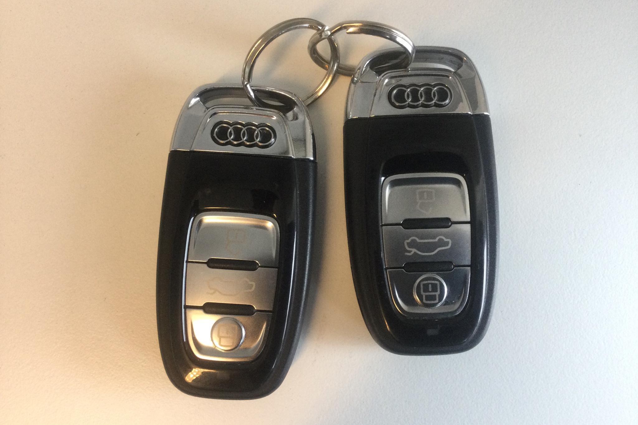 Audi A7 2.0 TFSI Sportback quattro (252hk) - 4 435 mil - Automat - vit - 2018
