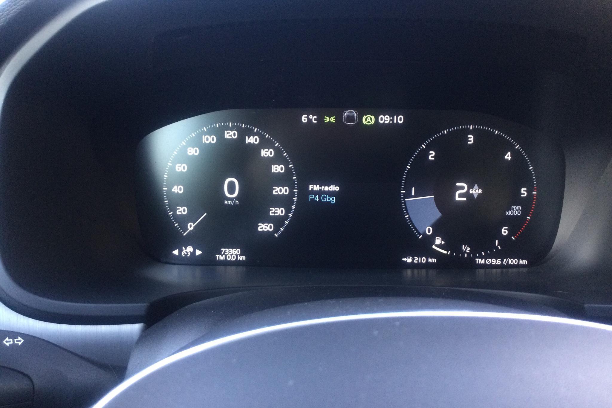 Volvo V90 D4 (190hk) - 73 360 km - Manual - black - 2018