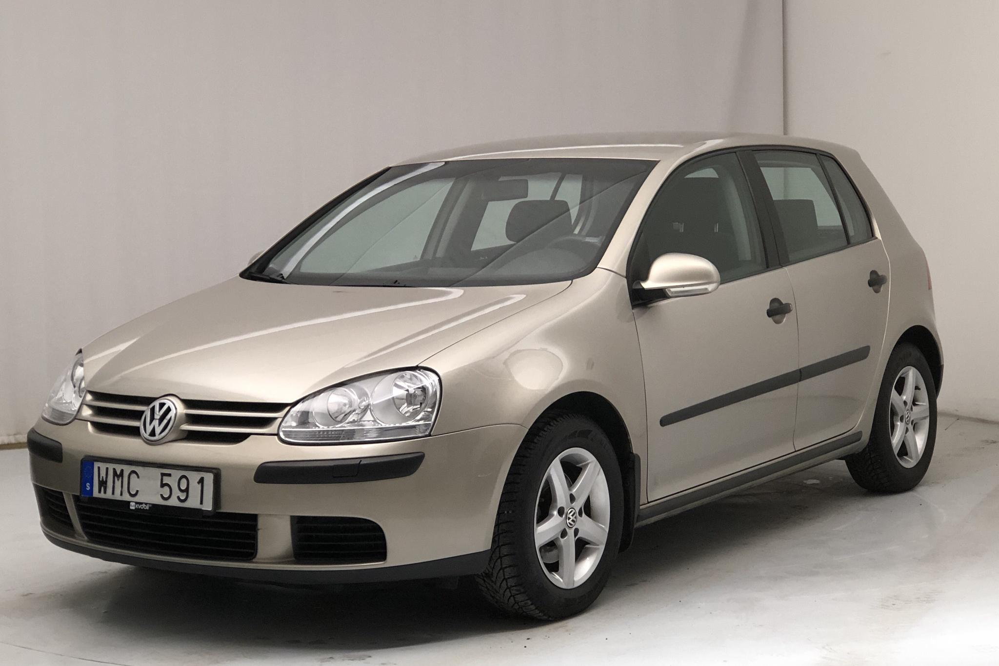 VW Golf A5 1.6 5dr (102hk) - 9 226 mil - Manuell - Light Brown - 2005