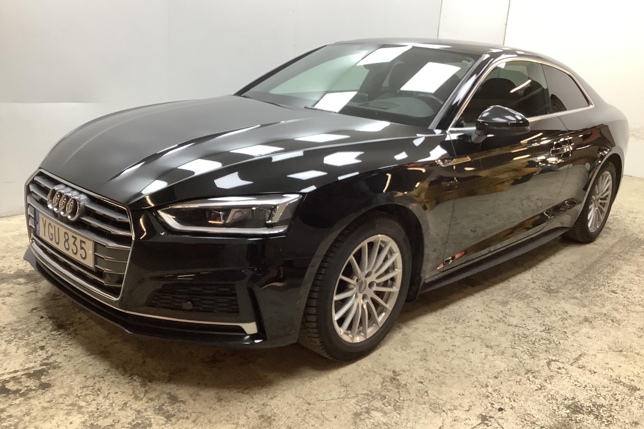 Audi A5 3.0 TDI Coupé quattro (218hk) - 51 790 km - Automatic - black - 2017