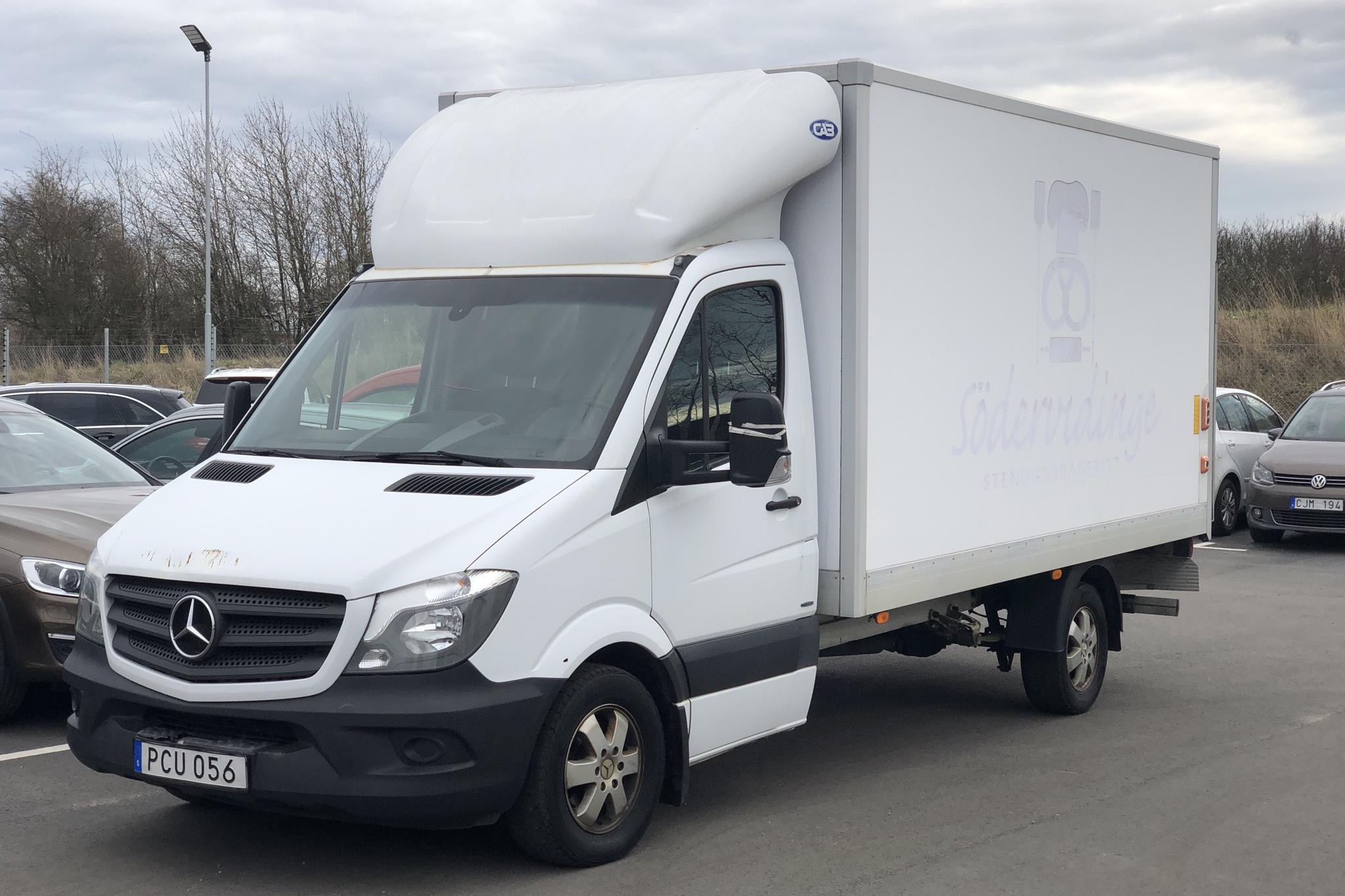 Mercedes Sprinter 314 CDI Volymskåp (143hk) - 12 564 mil - Automat - vit - 2017