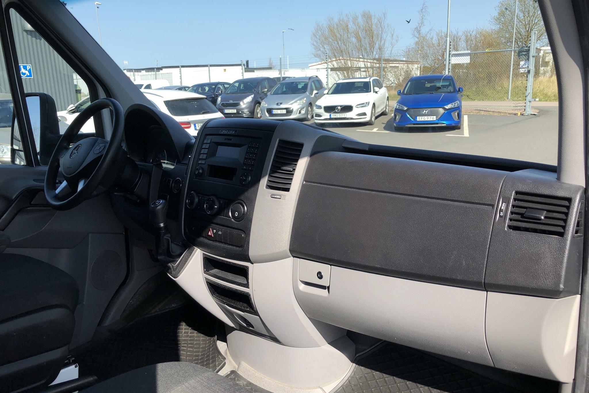 Mercedes Sprinter 314 CDI Volymskåp (143hk) - 15 071 mil - Automat - vit - 2017