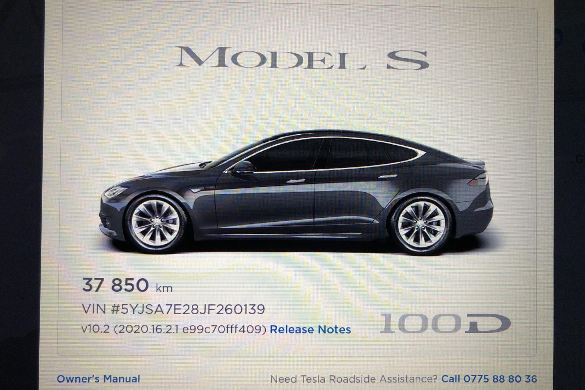 Tesla Model S 100D - 37 850 km - Automatic - gray - 2018