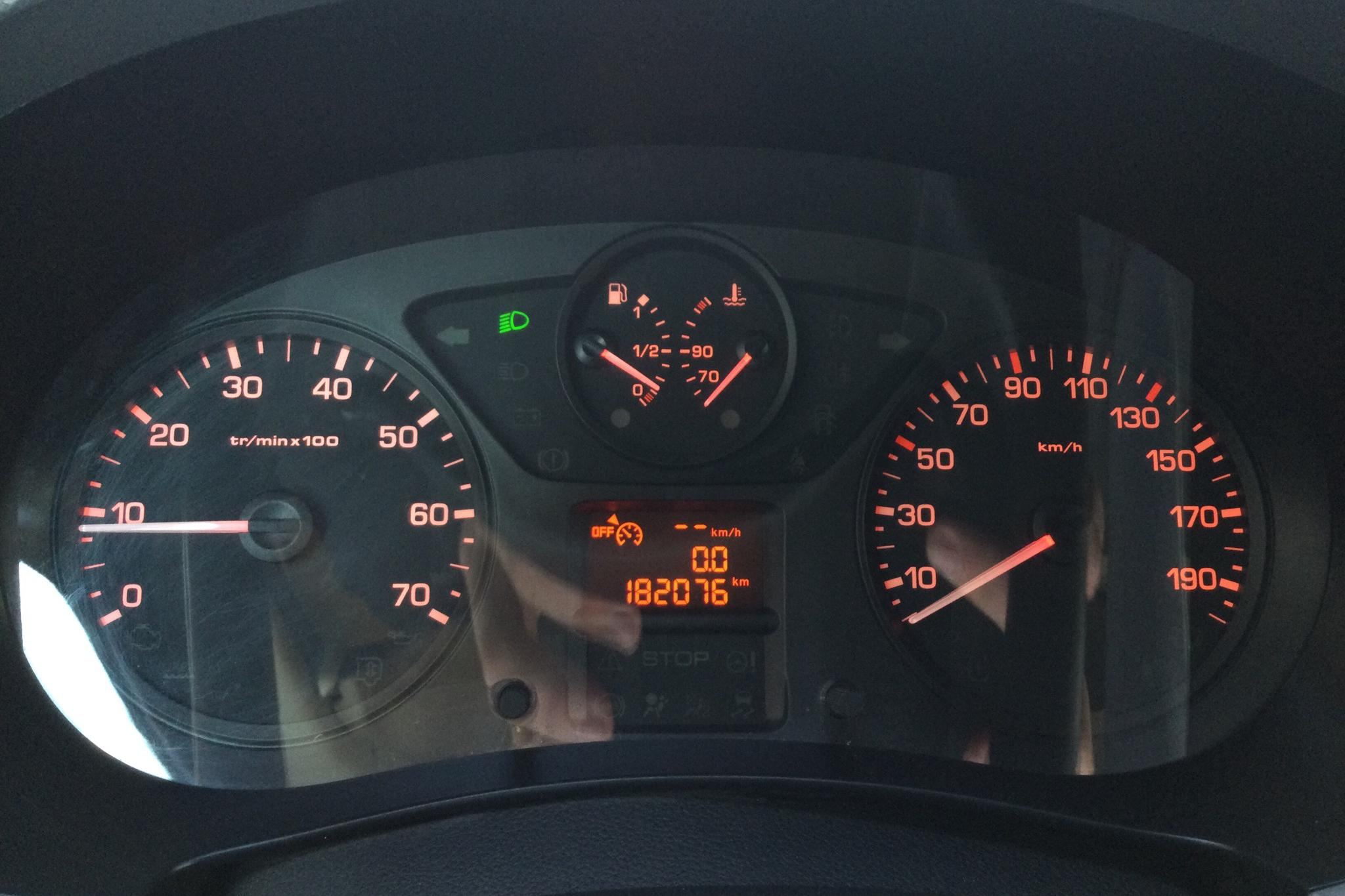 Citroen Berlingo III 1.6 HDi Skåp (75hk) - 18 207 mil - Manuell - svart - 2014