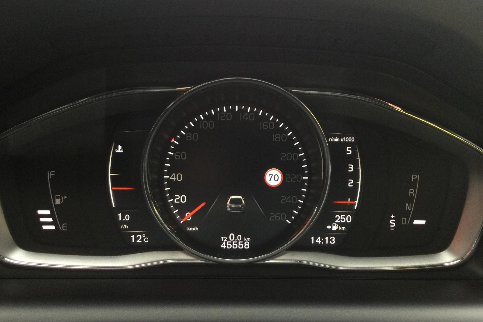 Volvo XC60 D4 2WD (190hk) - 45 550 km - Automatic - gray - 2017