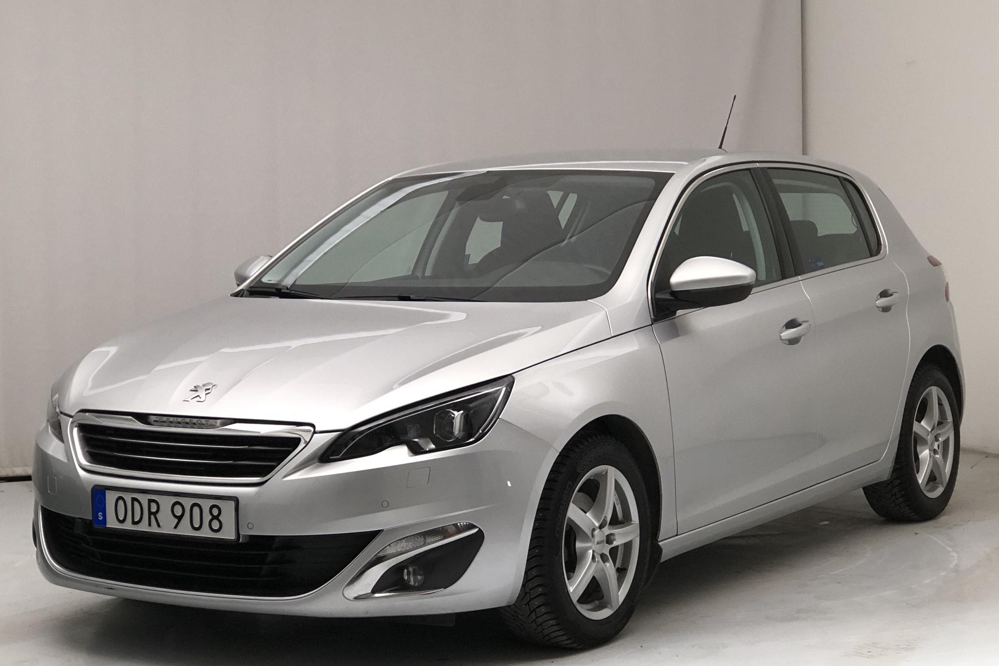 Peugeot 308 BlueHDi 5dr (120hk) - 34 990 km - Automatic - Light Grey - 2016