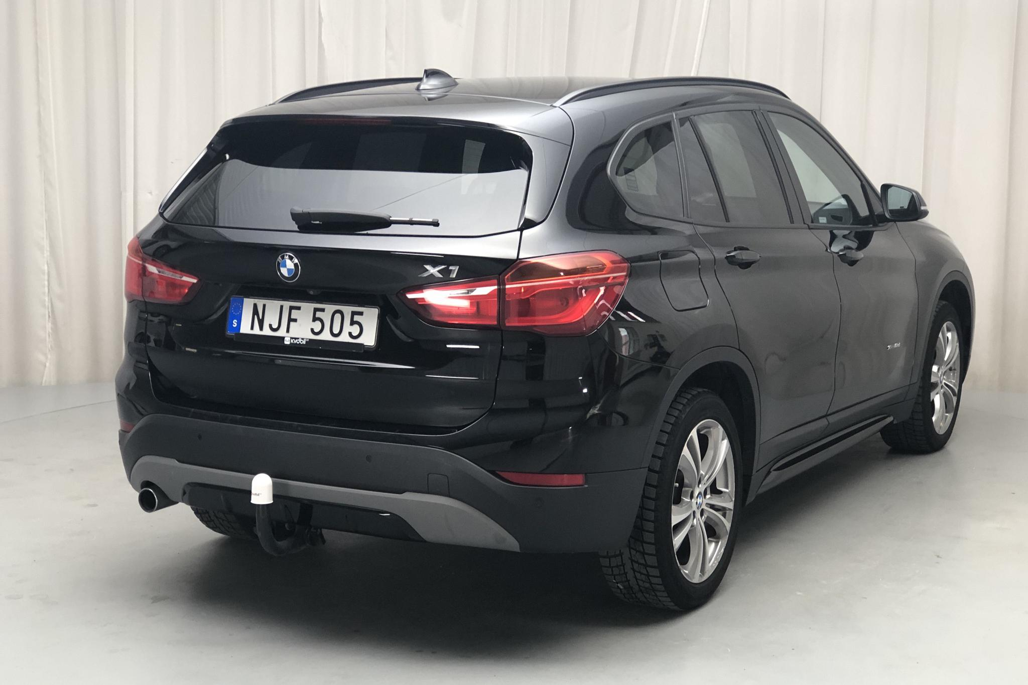 BMW X1 xDrive18d, F48 (150hk) - 109 700 km - Automatic - black - 2017
