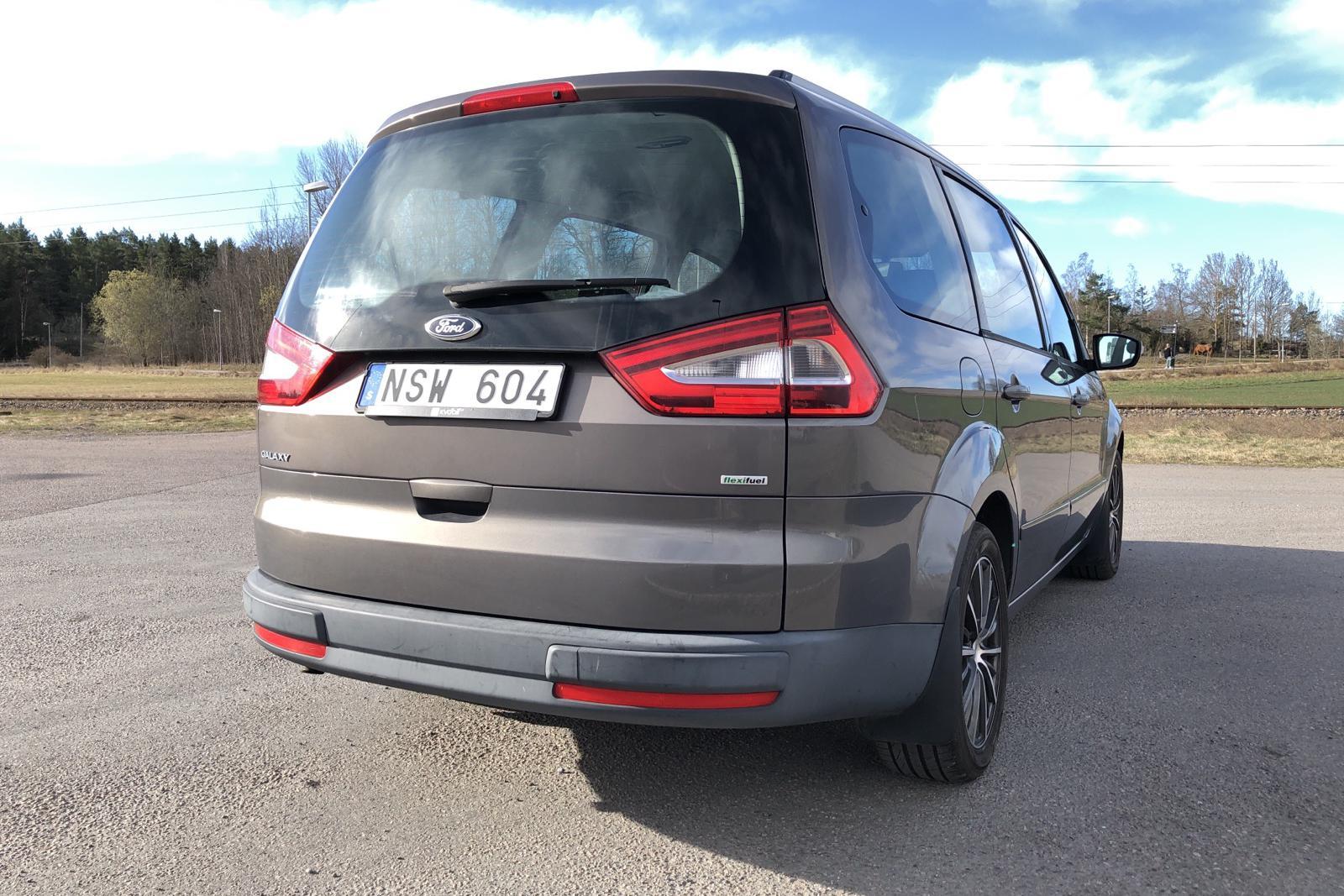 Ford Galaxy 2.0 Flexifuel (145hk) - 260 200 km - Manual - brown - 2012