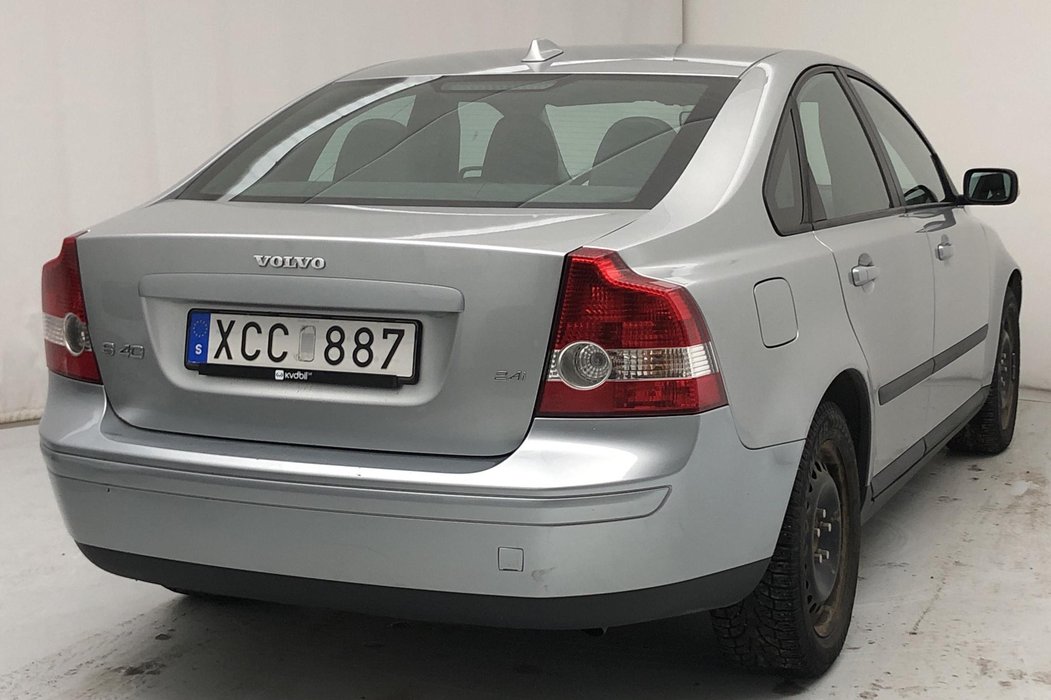 Volvo S40 2.4i (170hk) - 105 460 km - Manual - silver - 2006