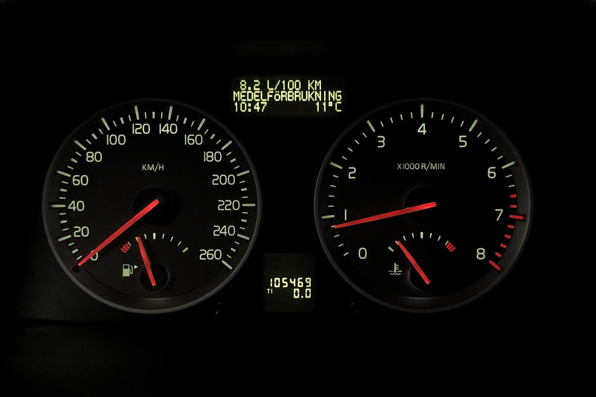 Volvo S40 2.4i (170hk) - 10 546 mil - Manuell - silver - 2006