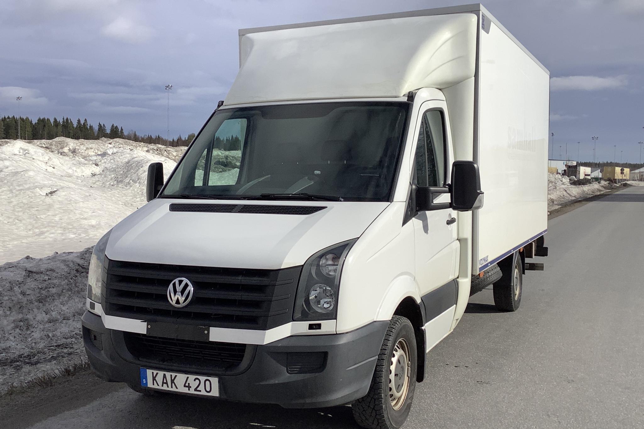 VW Crafter 35 2.0 TDI Volymskåp (163hk) - 119 220 km - Manual - white - 2016