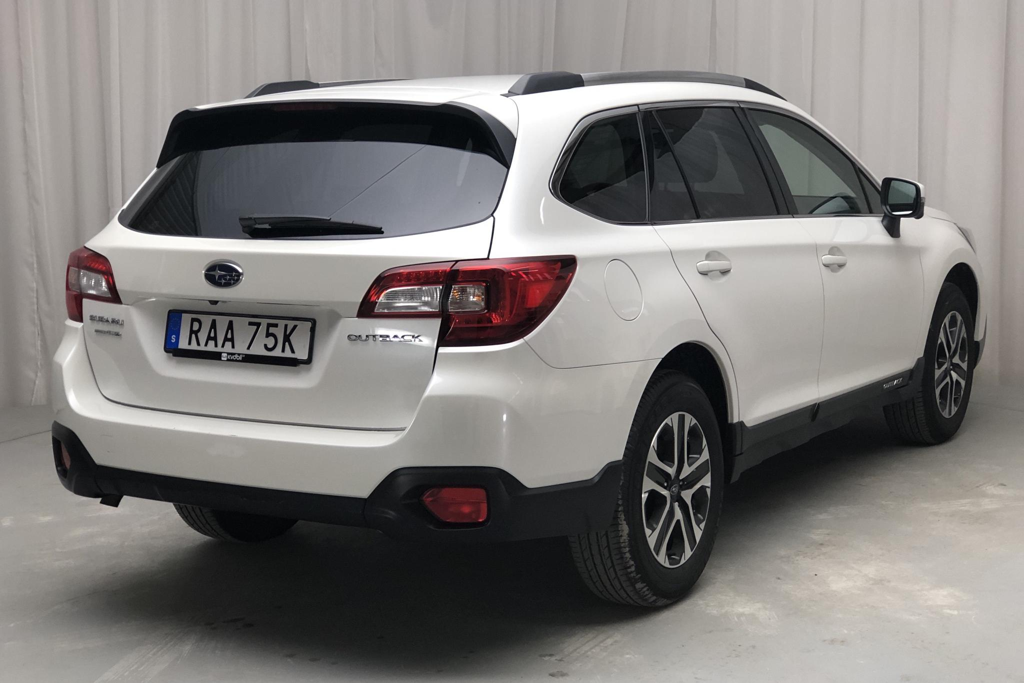 Subaru Outback 2.5i 4WD (173hk) - 39 280 km - Automatic - white - 2019