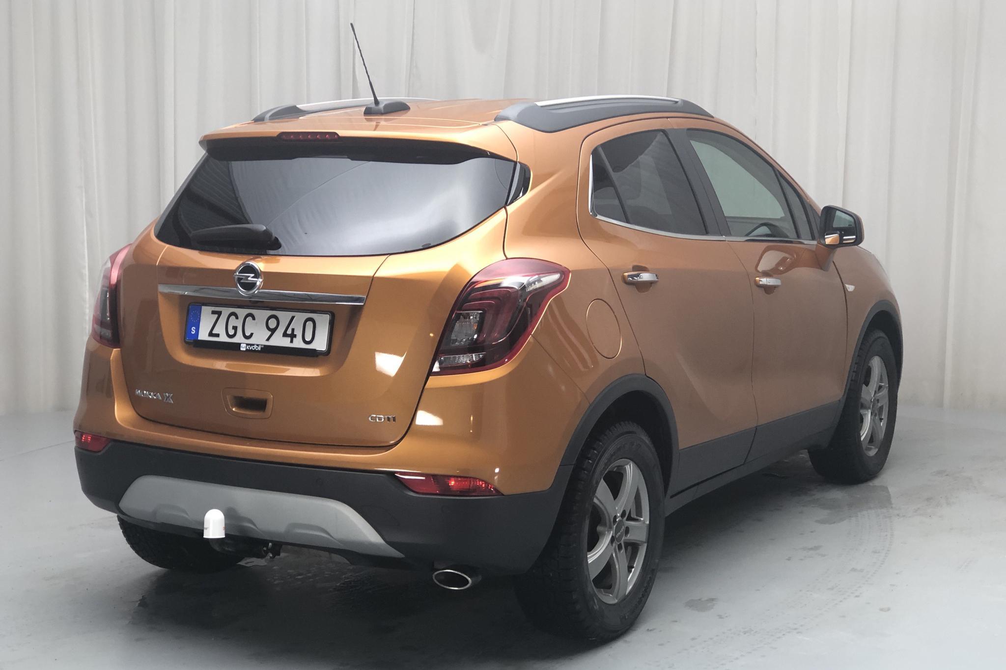 Opel Mokka X 1.6 CDTI ECOTEC (136hk) - 60 860 km - Automatic - orange - 2018