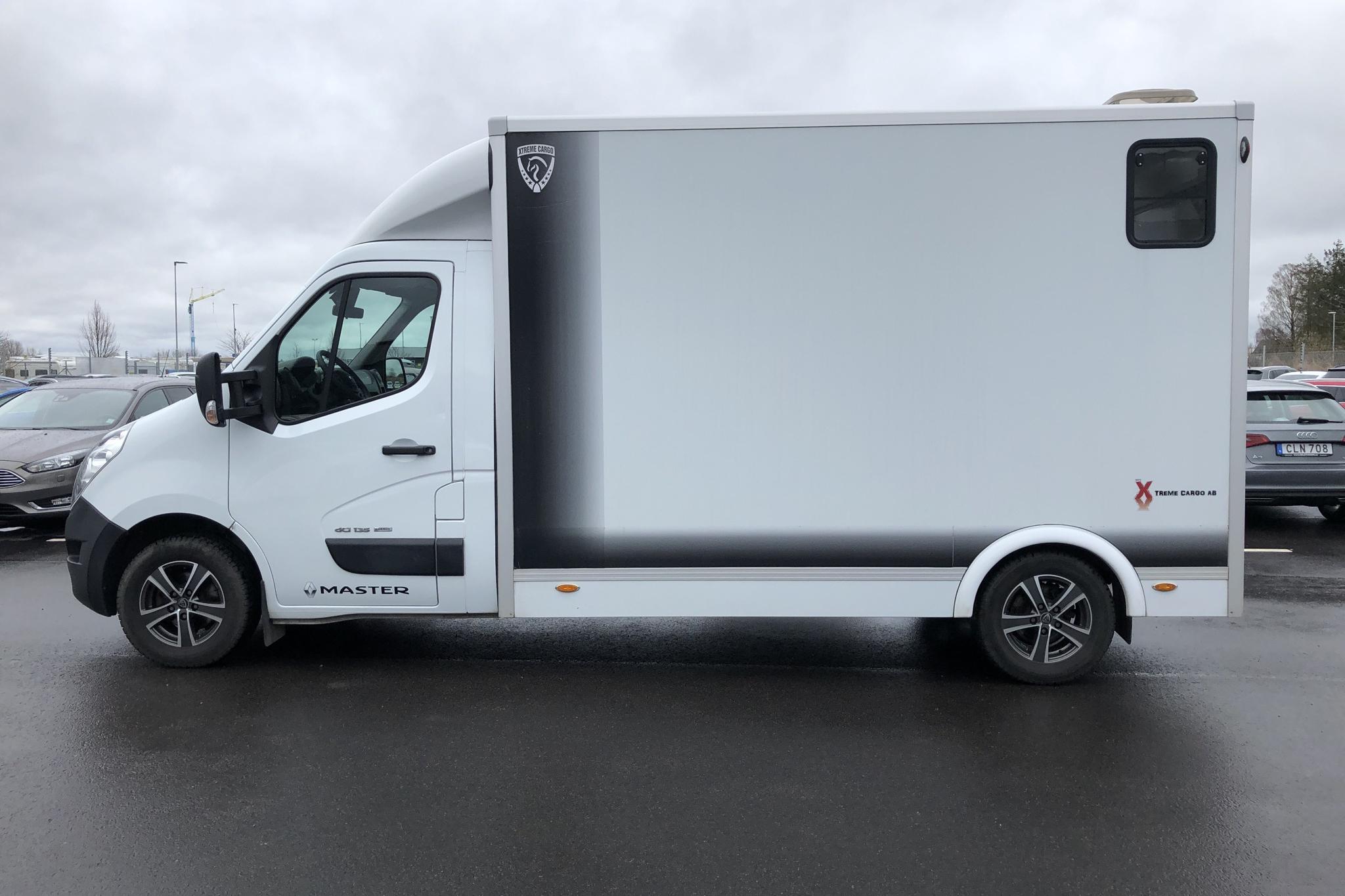 Renault Master 2.3 dCi XTREME CARGO (135hk) Hästtransport - 39 210 km - Manual - white - 2016