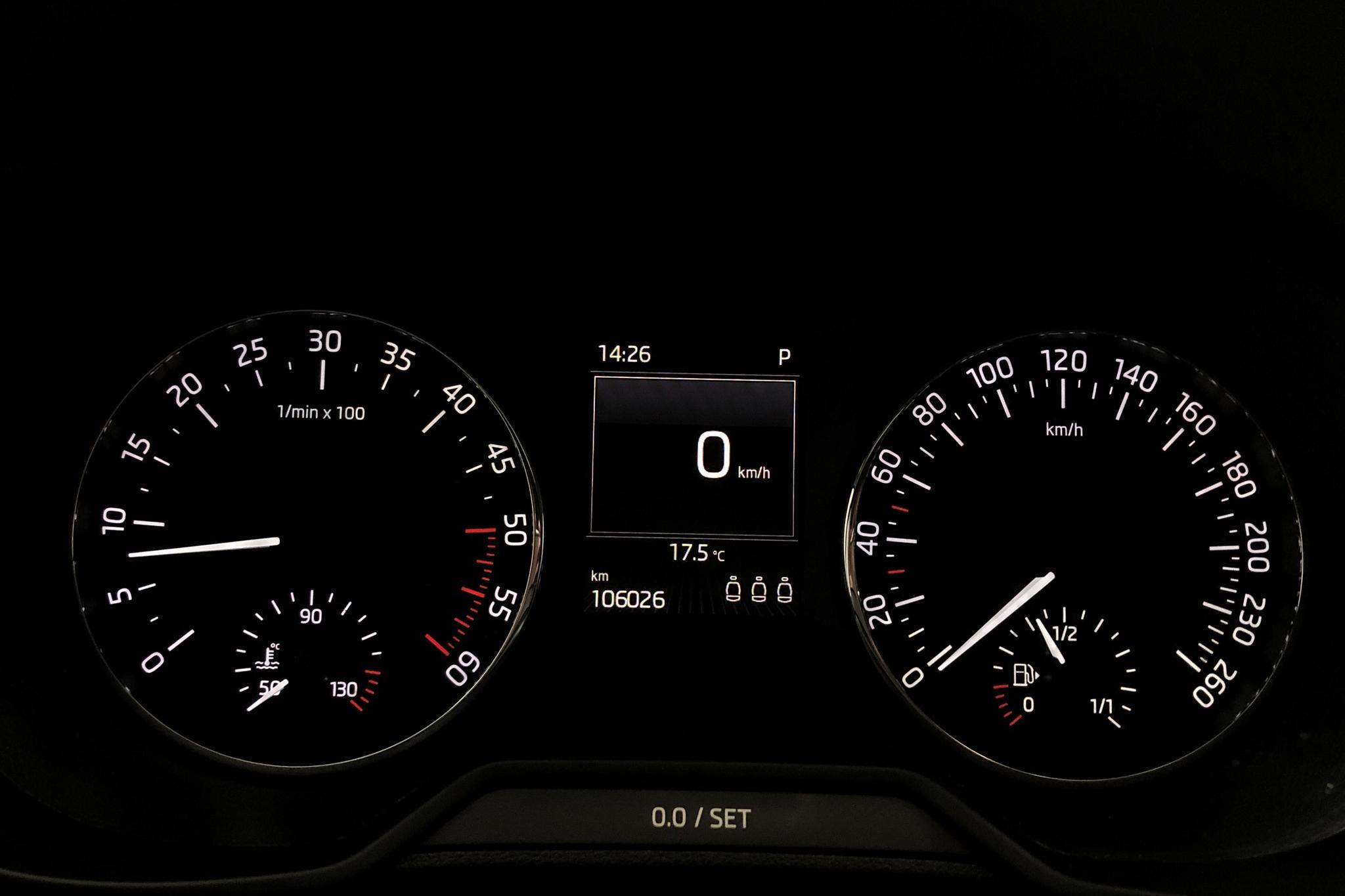 Skoda Octavia III 1.6 TDI GreenLine CR Combi (110hk) - 10 602 mil - Automat - vit - 2016