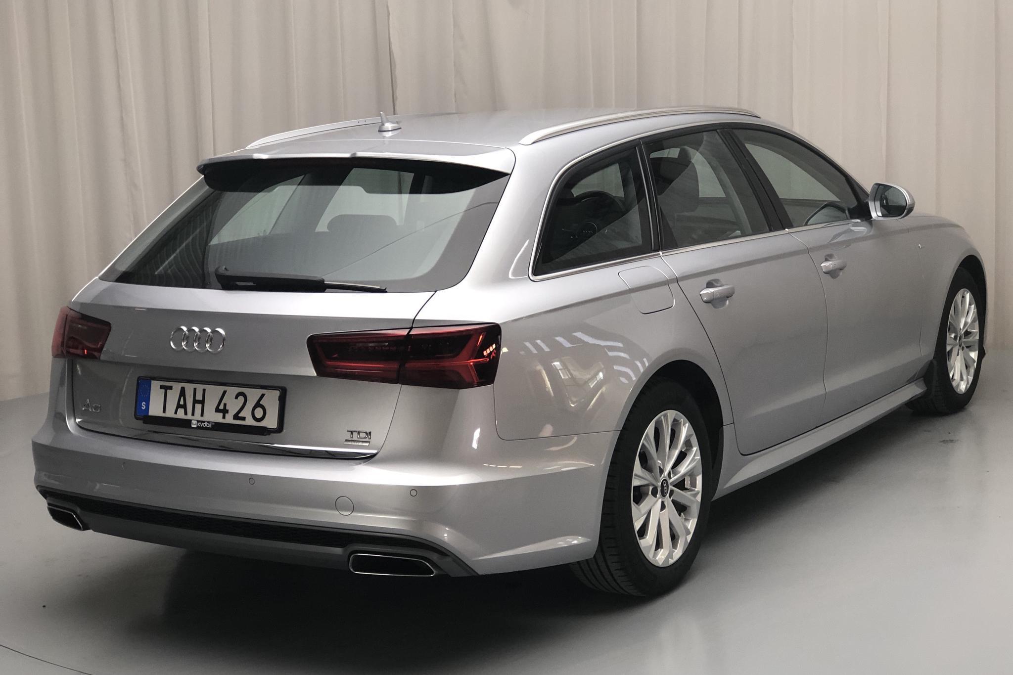 Audi A6 2.0 TDI Avant (190hk) - 83 240 km - Manual - silver - 2016
