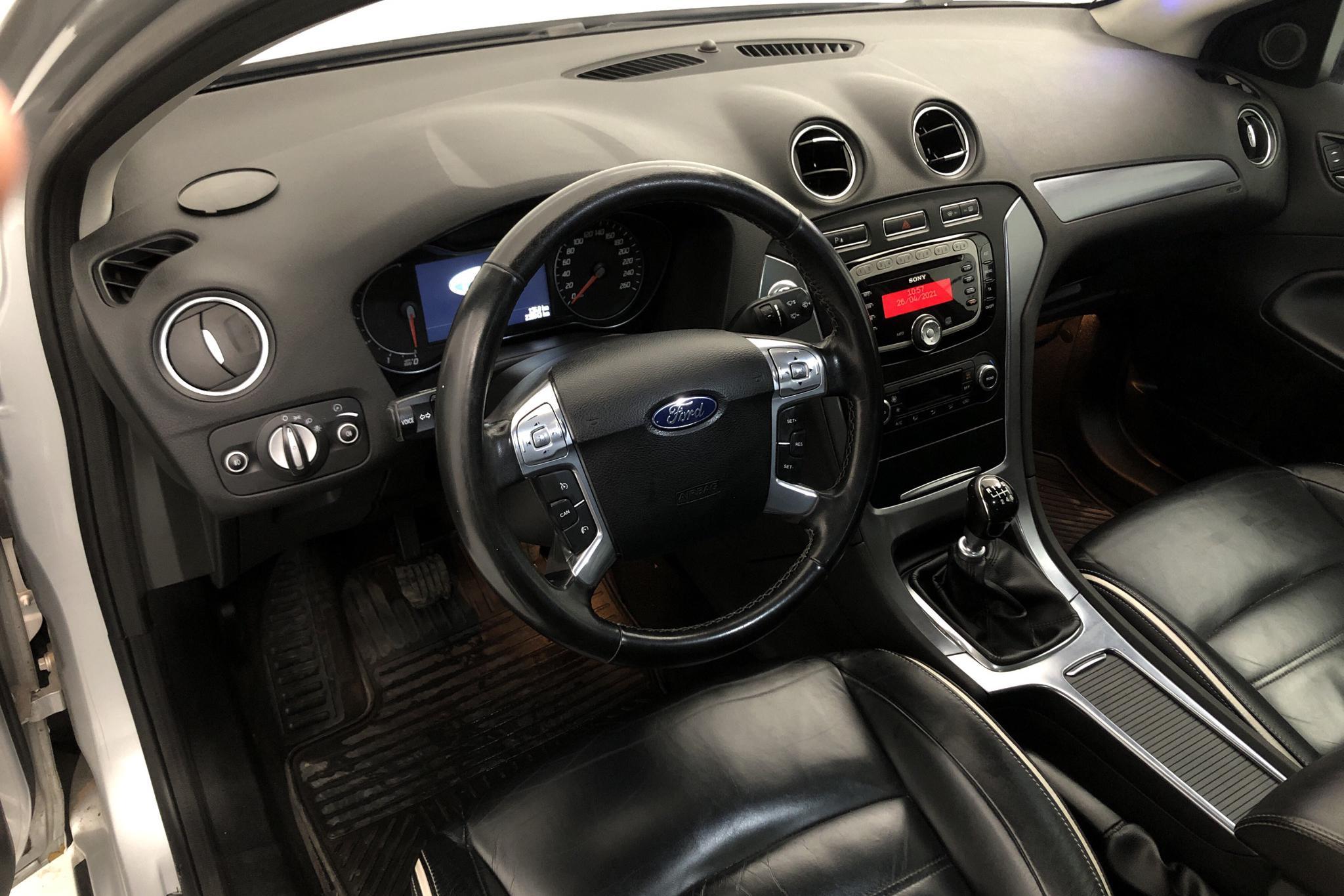 Ford Mondeo 2.0 Duratorq TDCi Kombi (163hk) - 236 840 km - Manual - gray - 2011