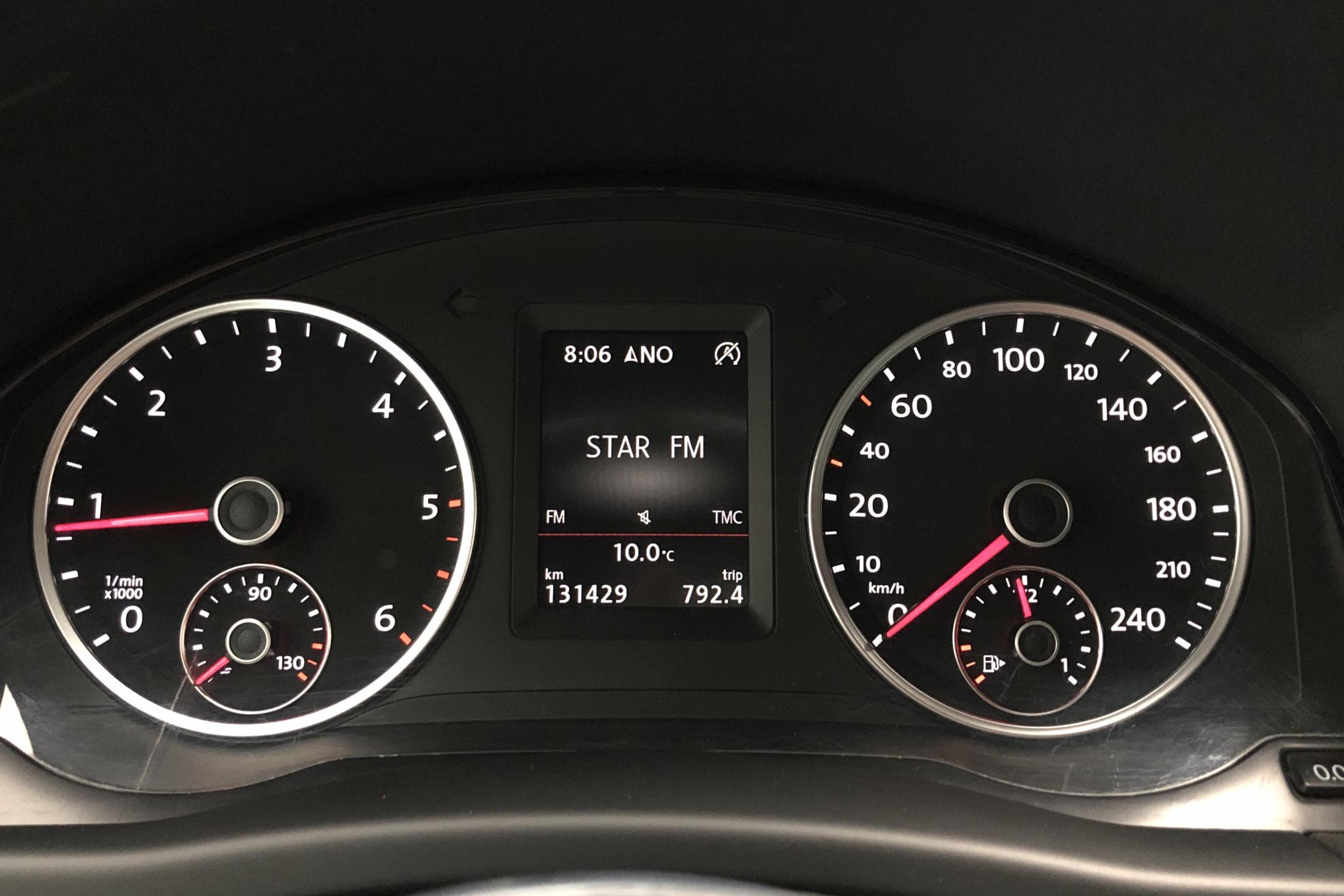 VW Tiguan 2.0 TDI 4MOTION BlueMotion Technology (184hk) - 13 142 mil - Automat - vit - 2016