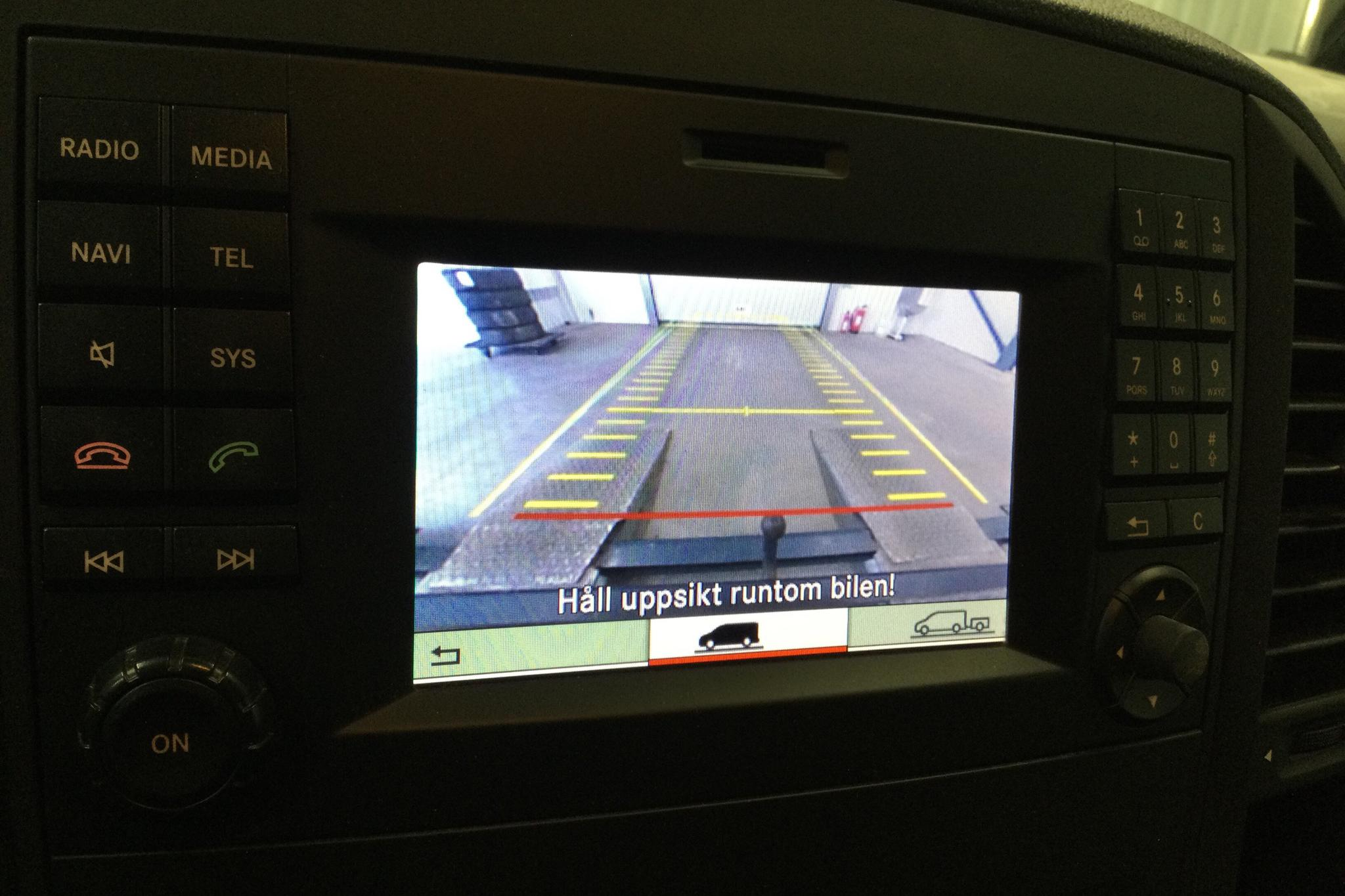 Mercedes Vito 114 CDI W640 (136hk) - 7 735 mil - Automat - svart - 2016