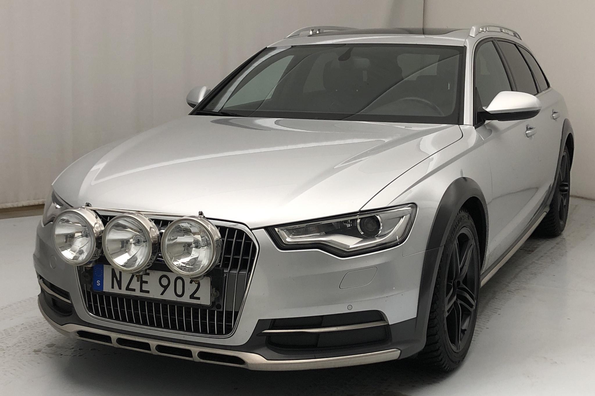 Audi A6 Allroad 3.0 TDI quattro (204hk) - 13 871 mil - Automat - silver - 2014