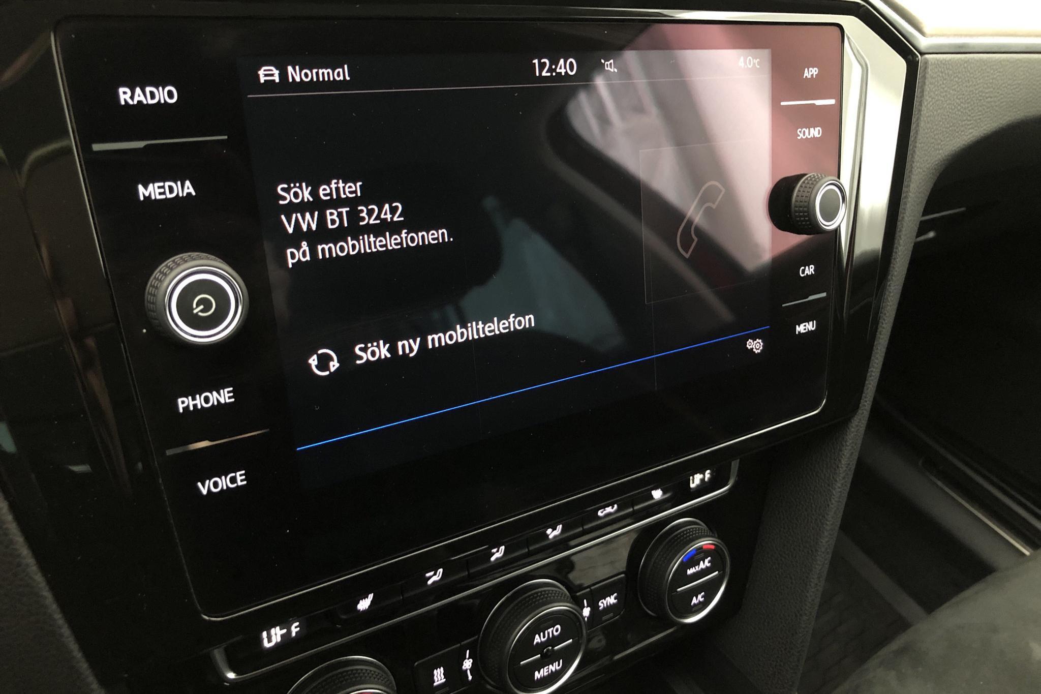 VW Passat 2.0 TDI Sportscombi (190hk) - 124 350 km - Automatic - red - 2018
