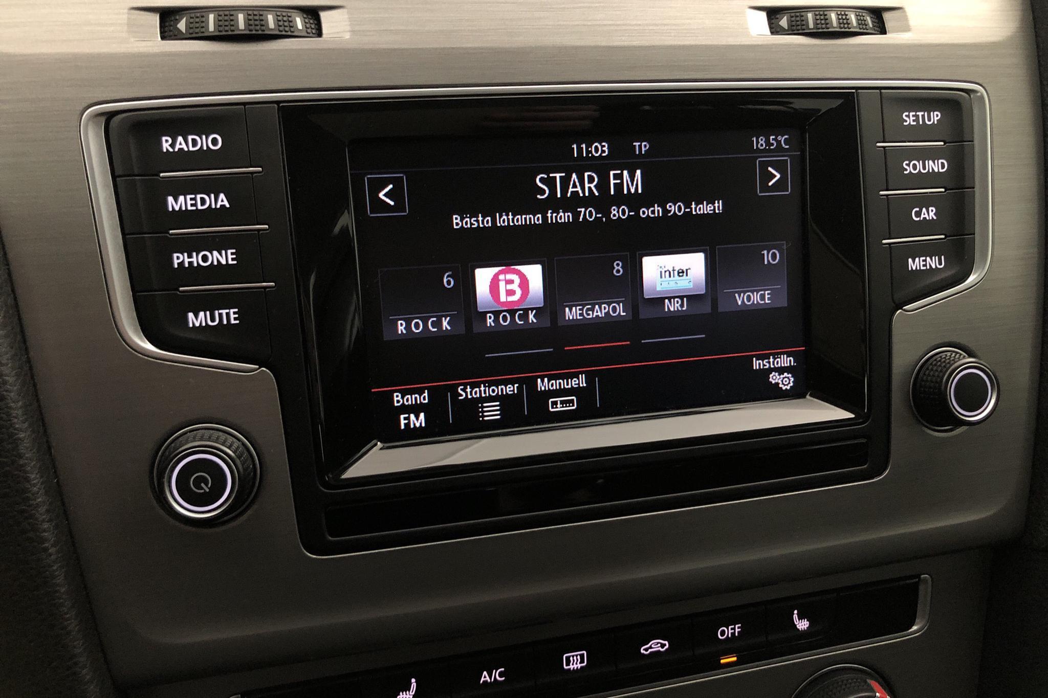 VW Golf VII 1.2 TSI 5dr (105hk) - 10 251 mil - Manuell - silver - 2015