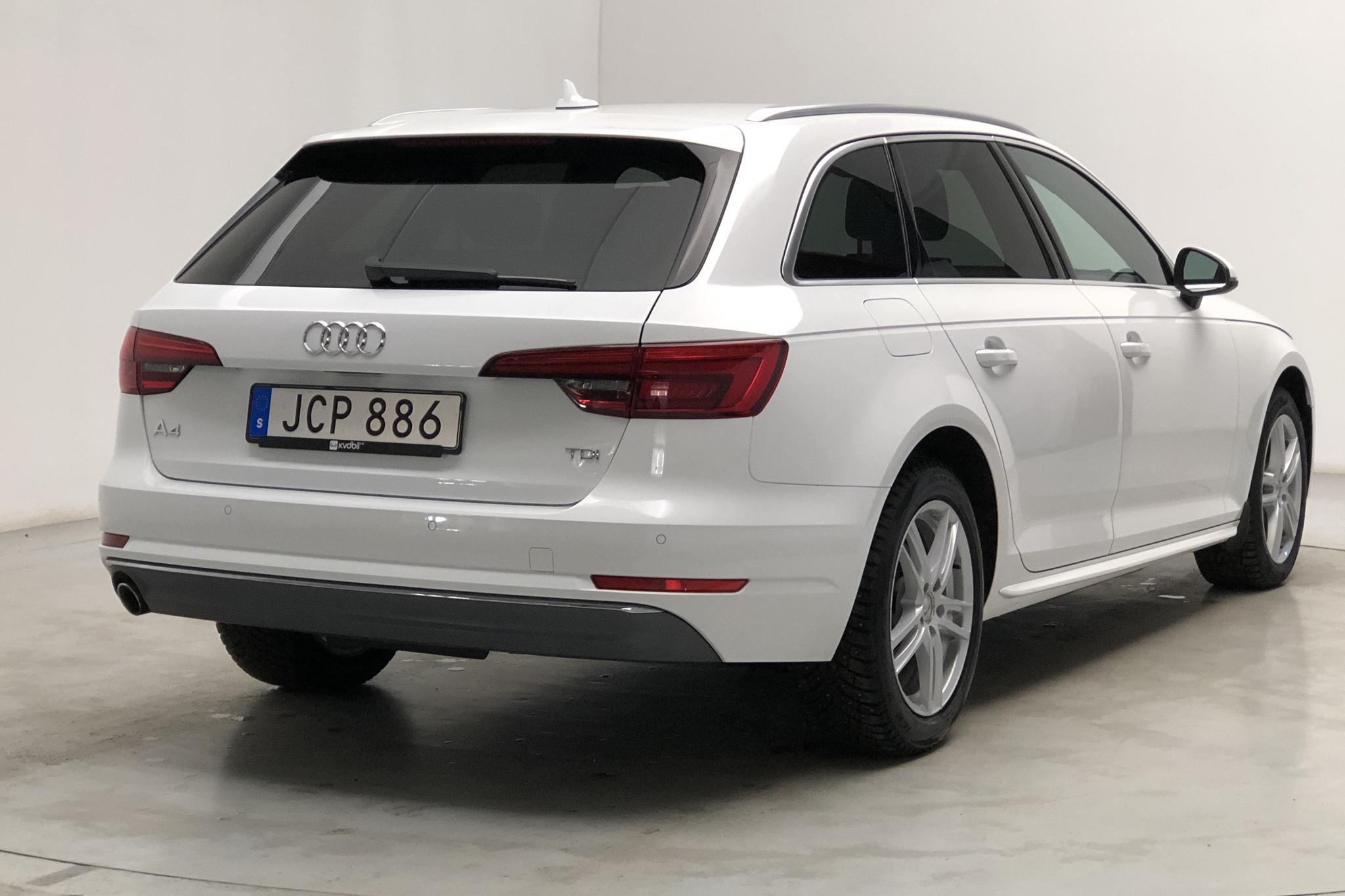 Audi A4 2.0 TDI Avant (150hk) - 135 770 km - Automatic - white - 2017