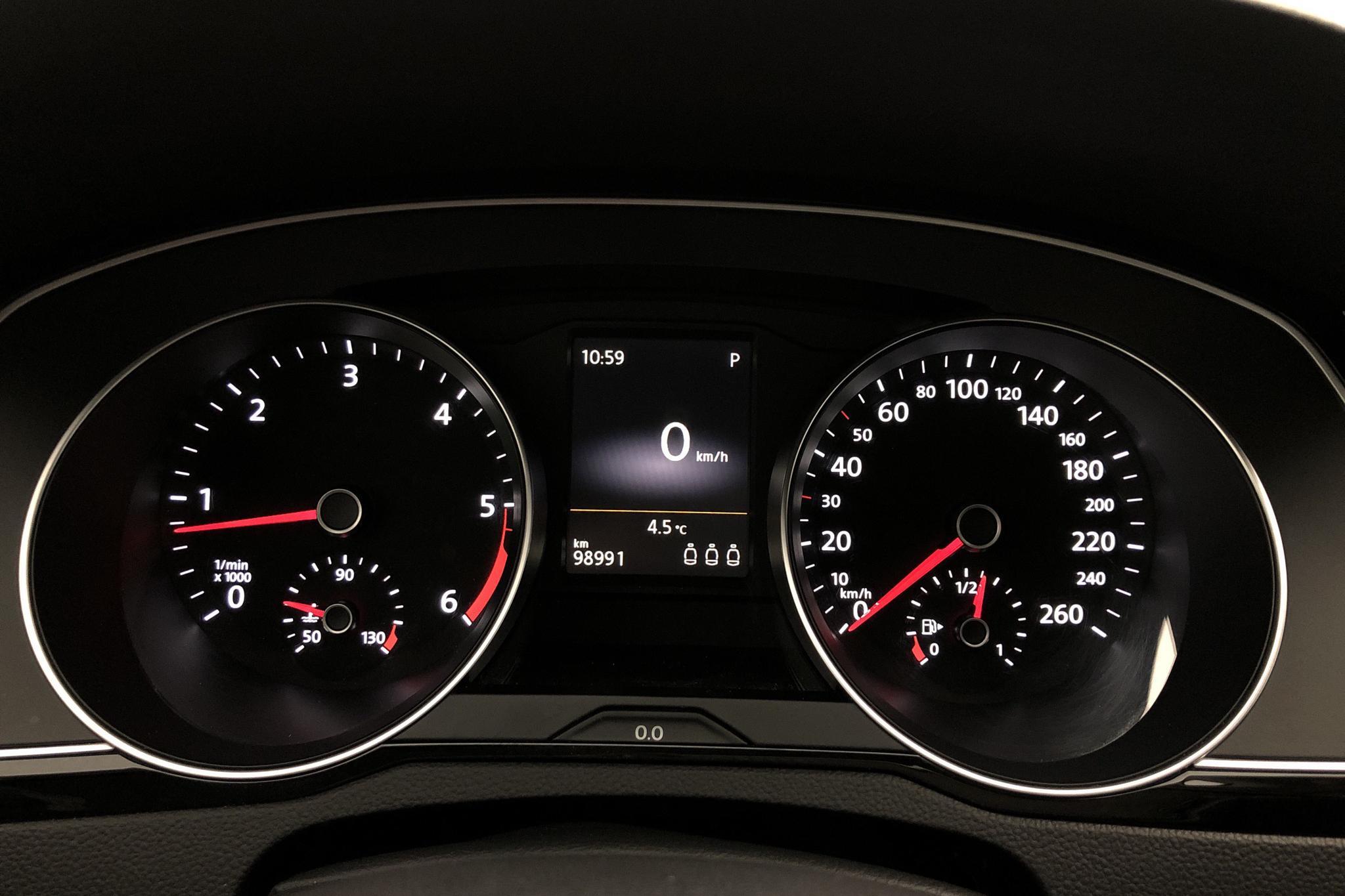 VW Passat Alltrack 2.0 TDI Sportscombi 4MOTION (190hk) - 98 990 km - Automatic - black - 2016