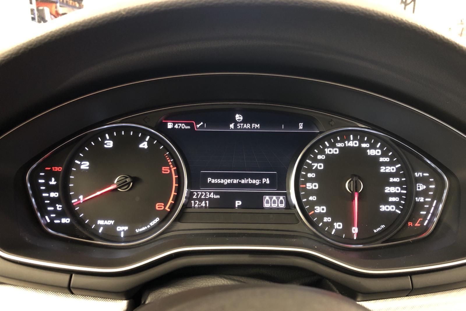 Audi A4 2.0 TDI Avant (150hk) - 27 230 km - Automatic - white - 2017