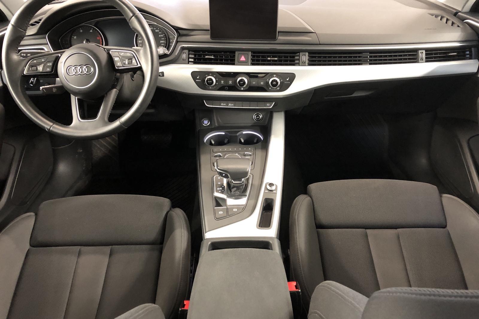 Audi A4 2.0 TDI Avant (150hk) - 2 723 mil - Automat - vit - 2017