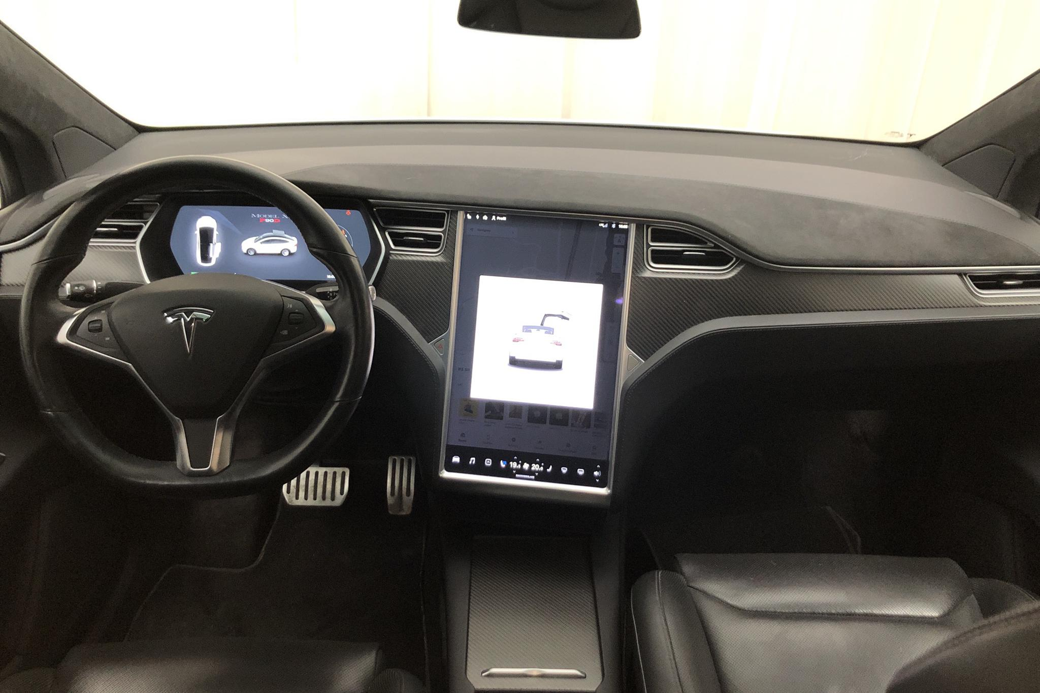 Tesla Model X P90D - 83 700 km - Automatic - white - 2016