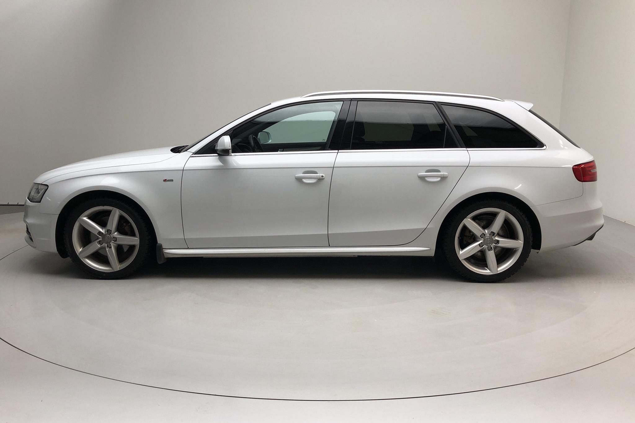 Audi A4 2.0 TDI Avant quattro (177hk) - 14 517 mil - Automat - vit - 2014