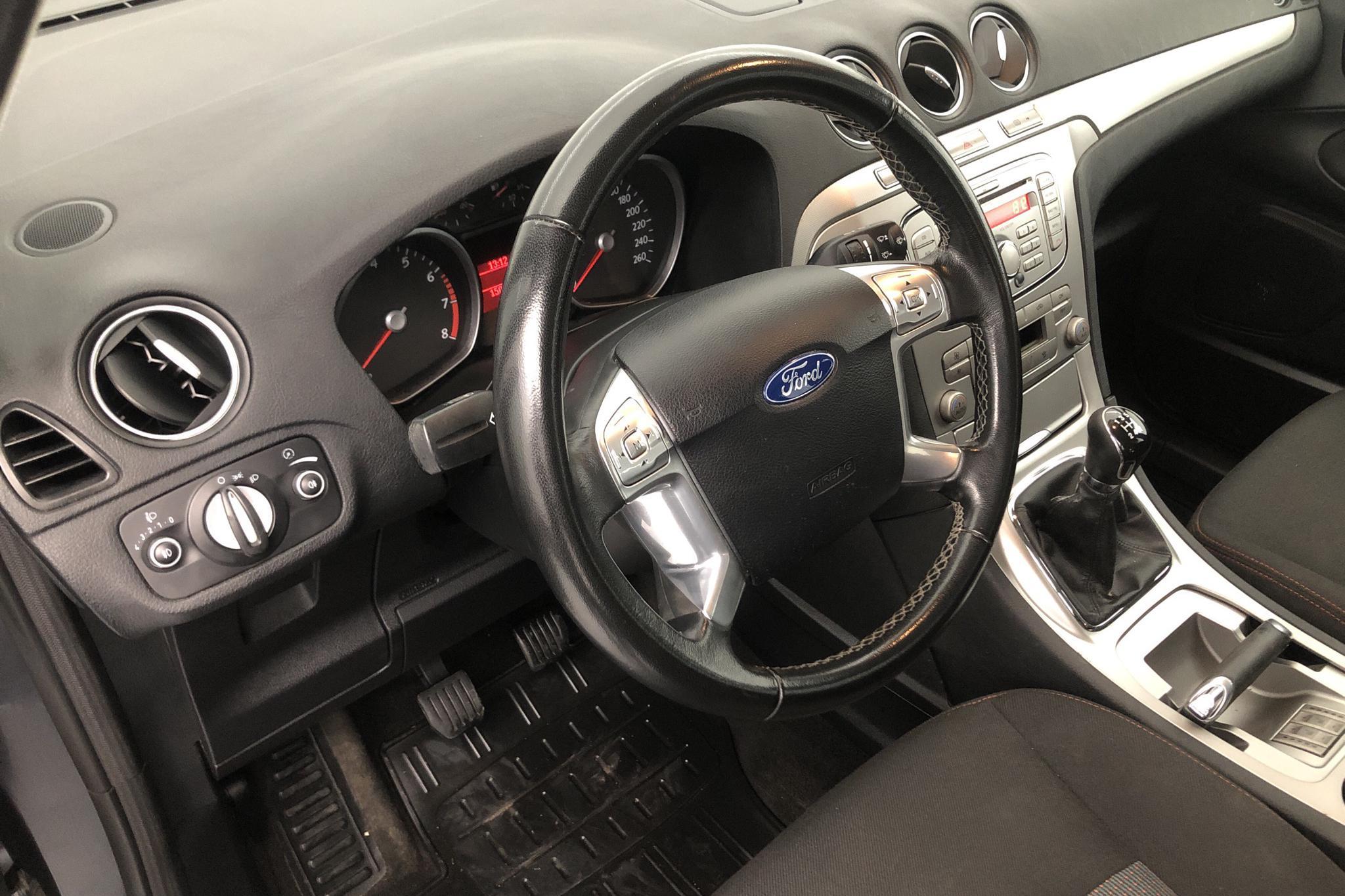 Ford Galaxy 2.0 Flexifuel (145hk) - 150 030 km - Manual - gray - 2010