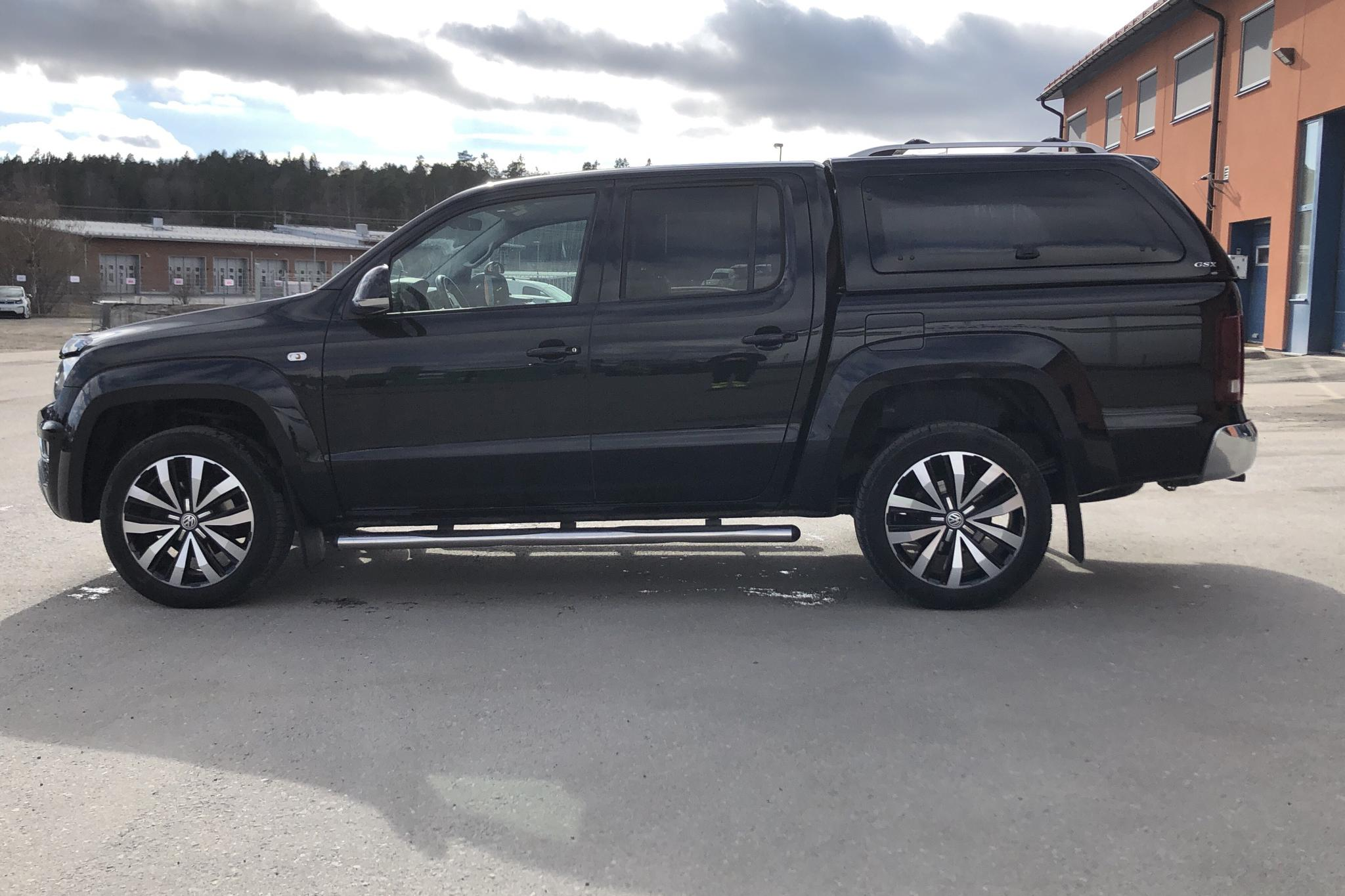 VW Amarok 3.0 TDI 4motion (224hk) - 104 140 km - Automatic - black - 2018