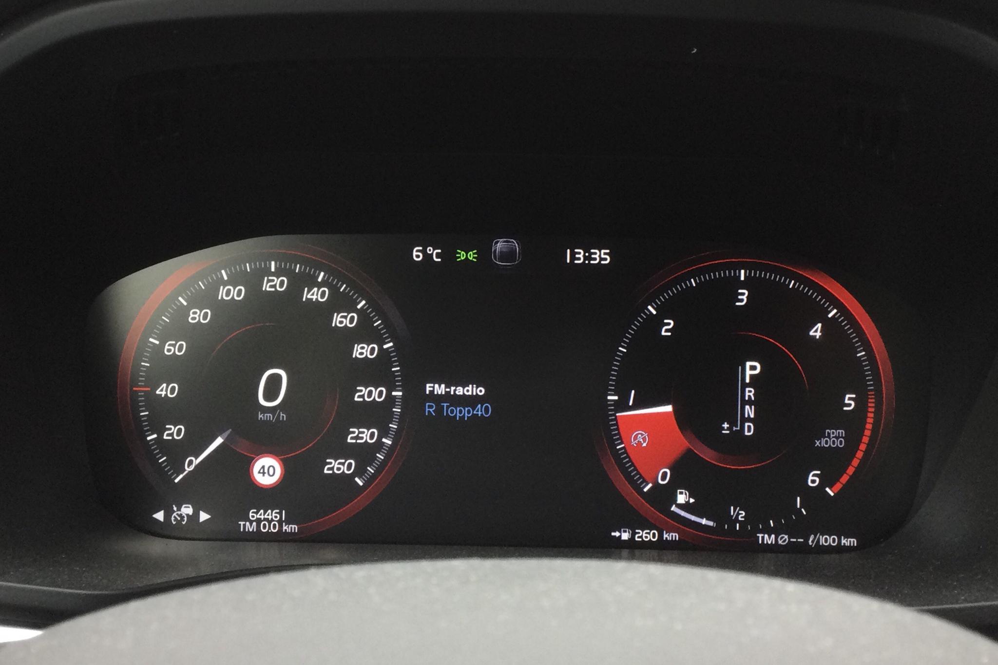 Volvo XC60 D4 AWD (190hk) - 6 447 mil - Automat - svart - 2018
