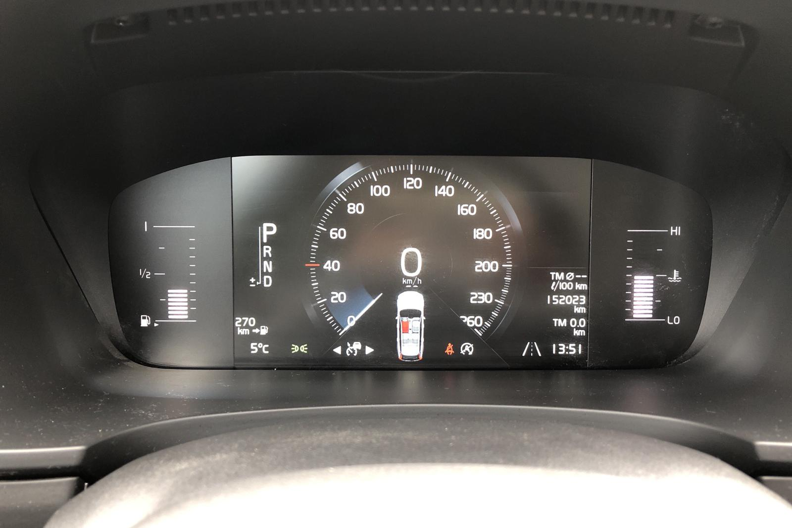Volvo V90 D3 AWD (150hk) - 15 202 mil - Automat - svart - 2018