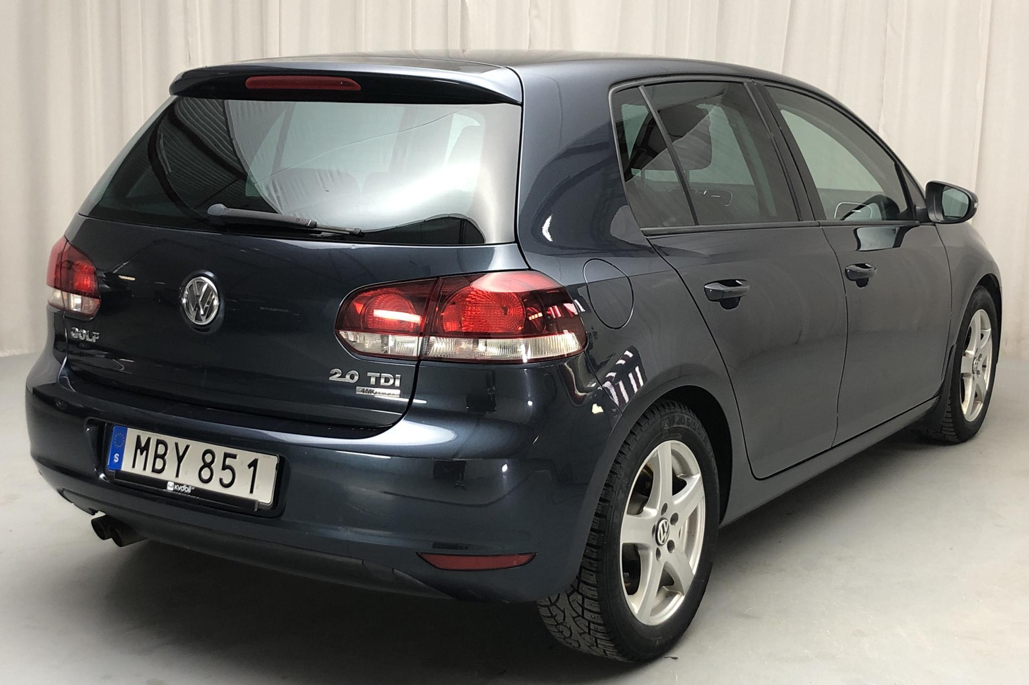 VW Golf VI GT 2.0 TDI 4Motion 5dr (140hk) - 12 159 mil - Manuell - Dark Grey - 2012