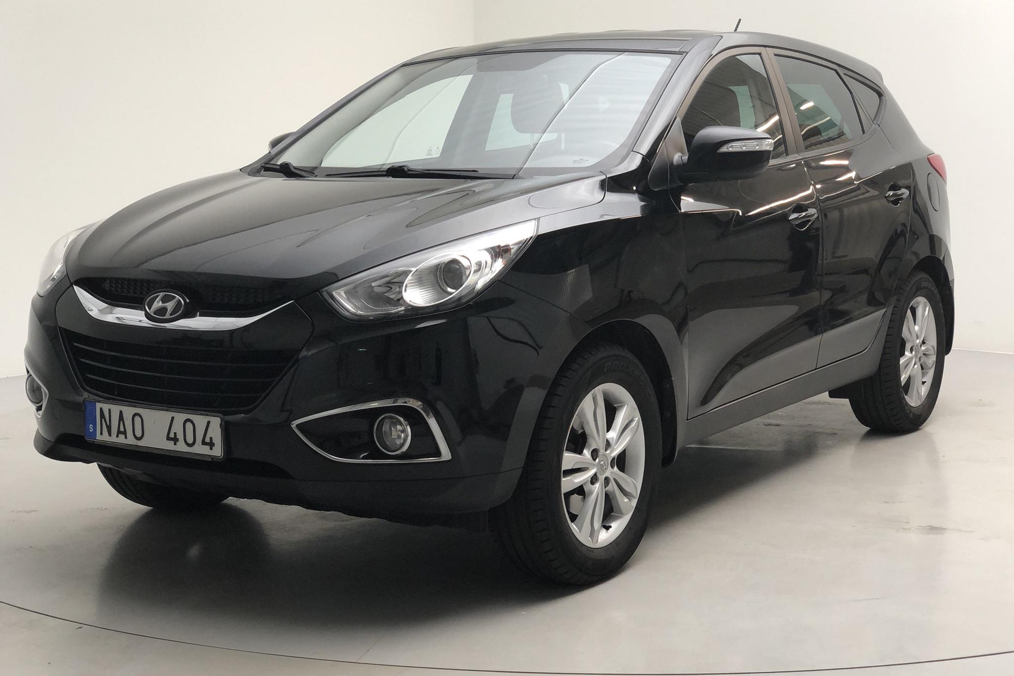 Hyundai iX35 1.6 2WD (136hk) - 113 410 km - Manual - black - 2013