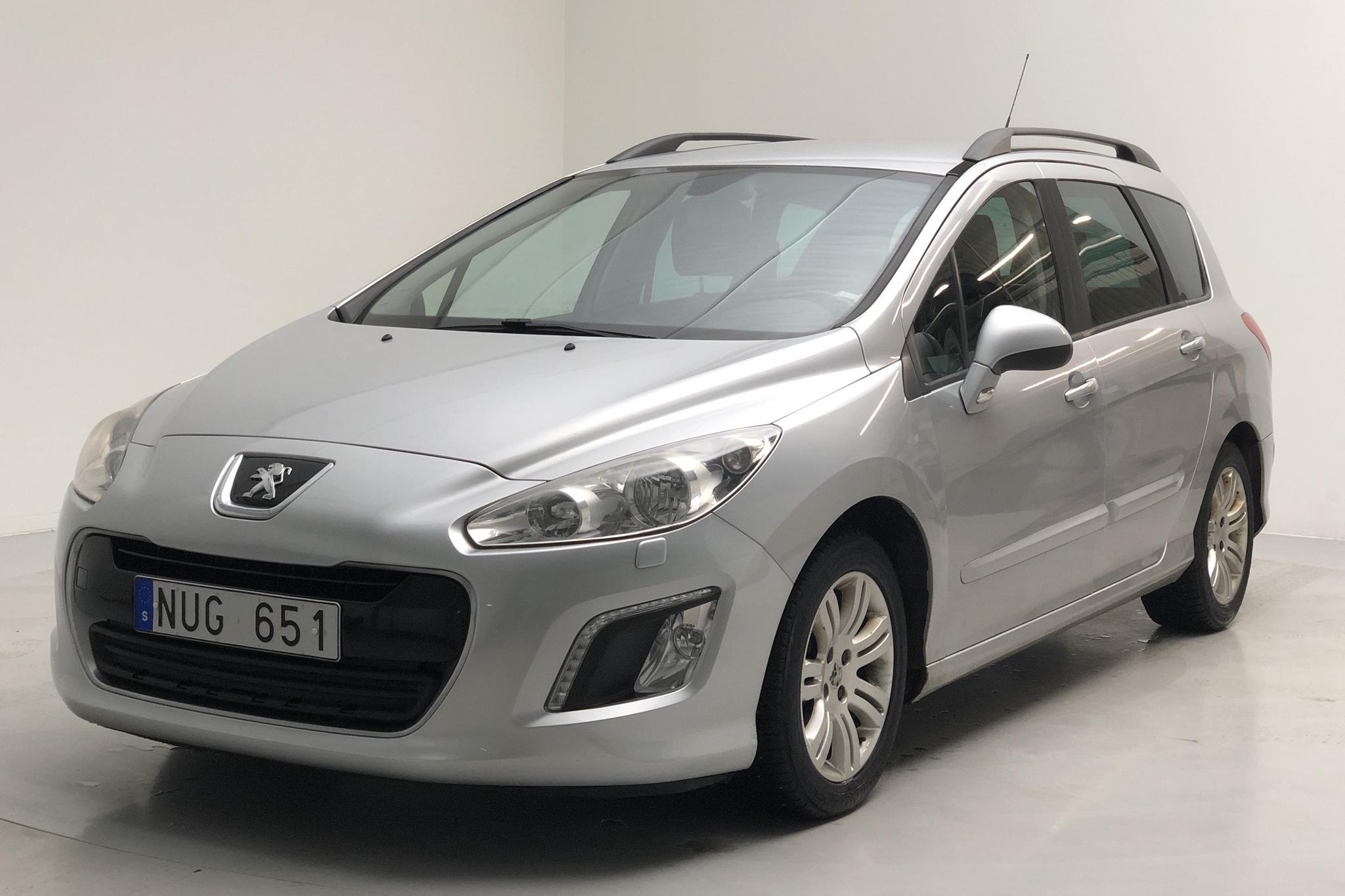 Peugeot 308 SW 1.6 e-HDi (112hk) - 14 742 mil - Manuell - Light Grey - 2012