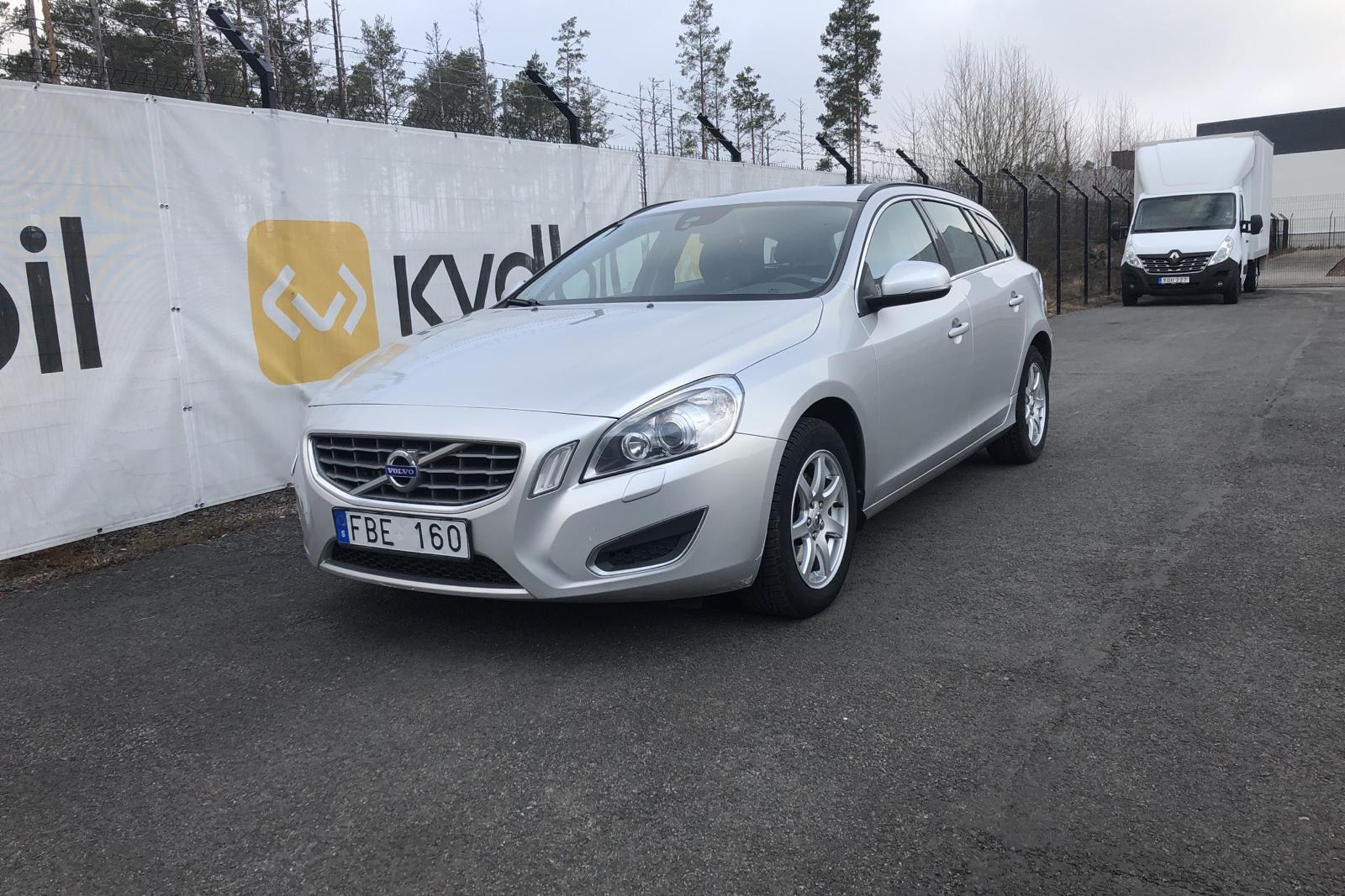 Volvo V60 D2 (115hk) - 22 584 mil - Manuell - Light Grey - 2013