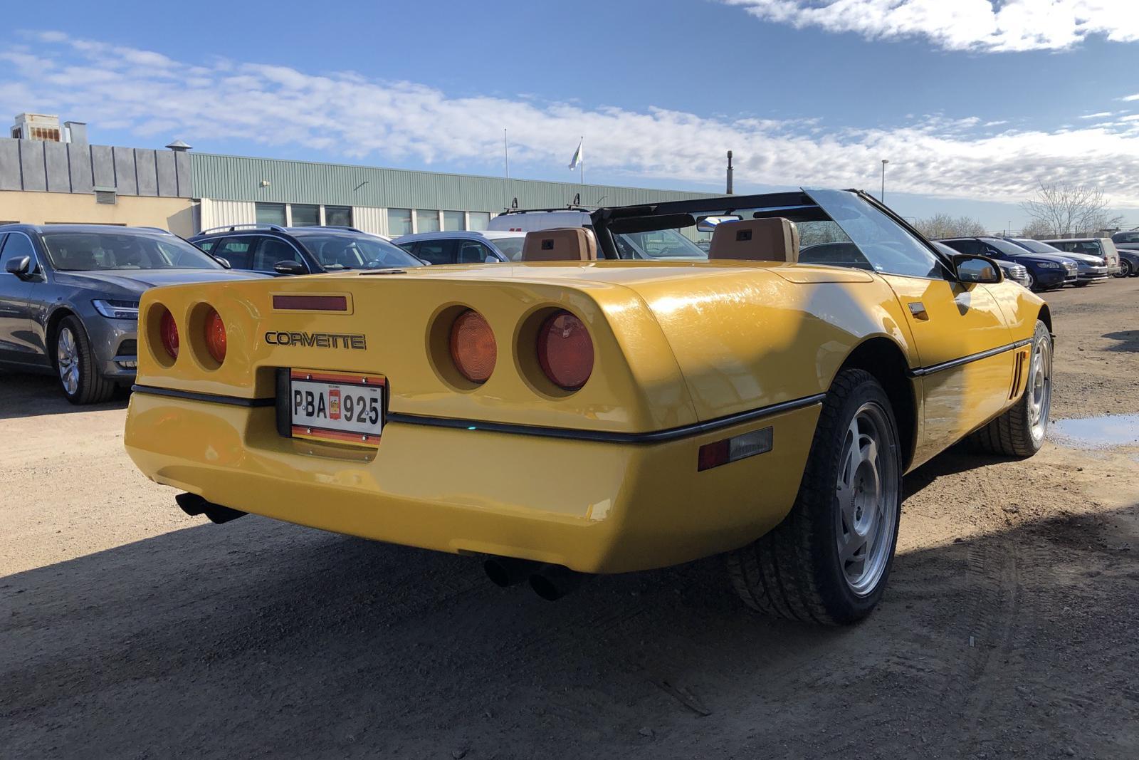 Chevrolet Corvette Cabriolet 5.7 V8 - 81 750 km - Automatic - yellow - 1990