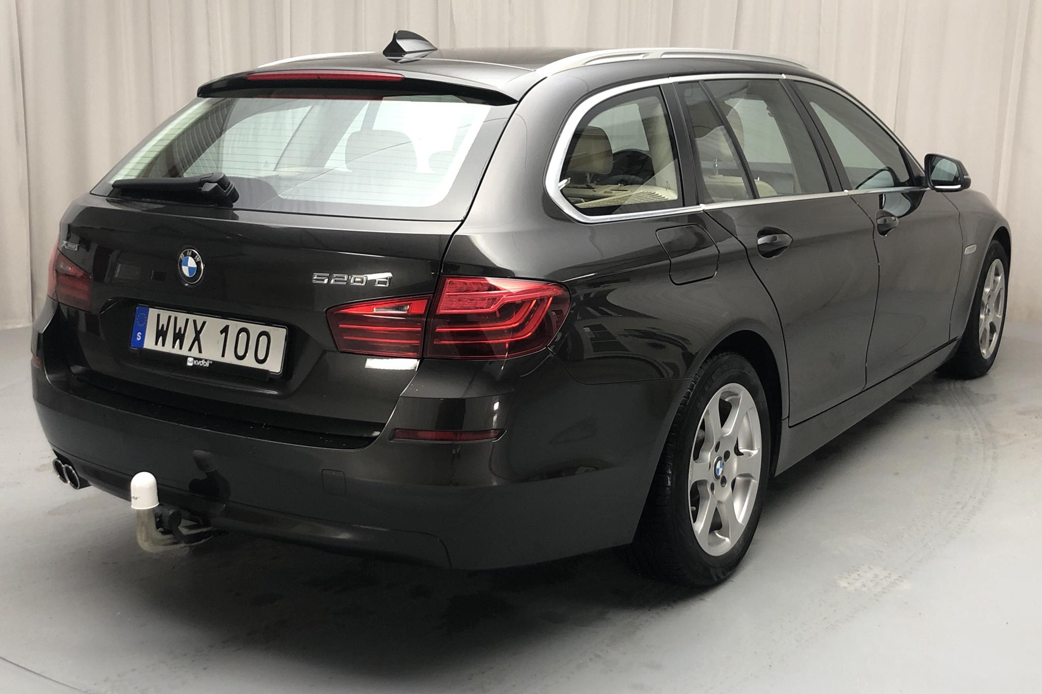 BMW 520d xDrive Touring, F11 (190hk) - 89 340 km - Automatic - brown - 2015