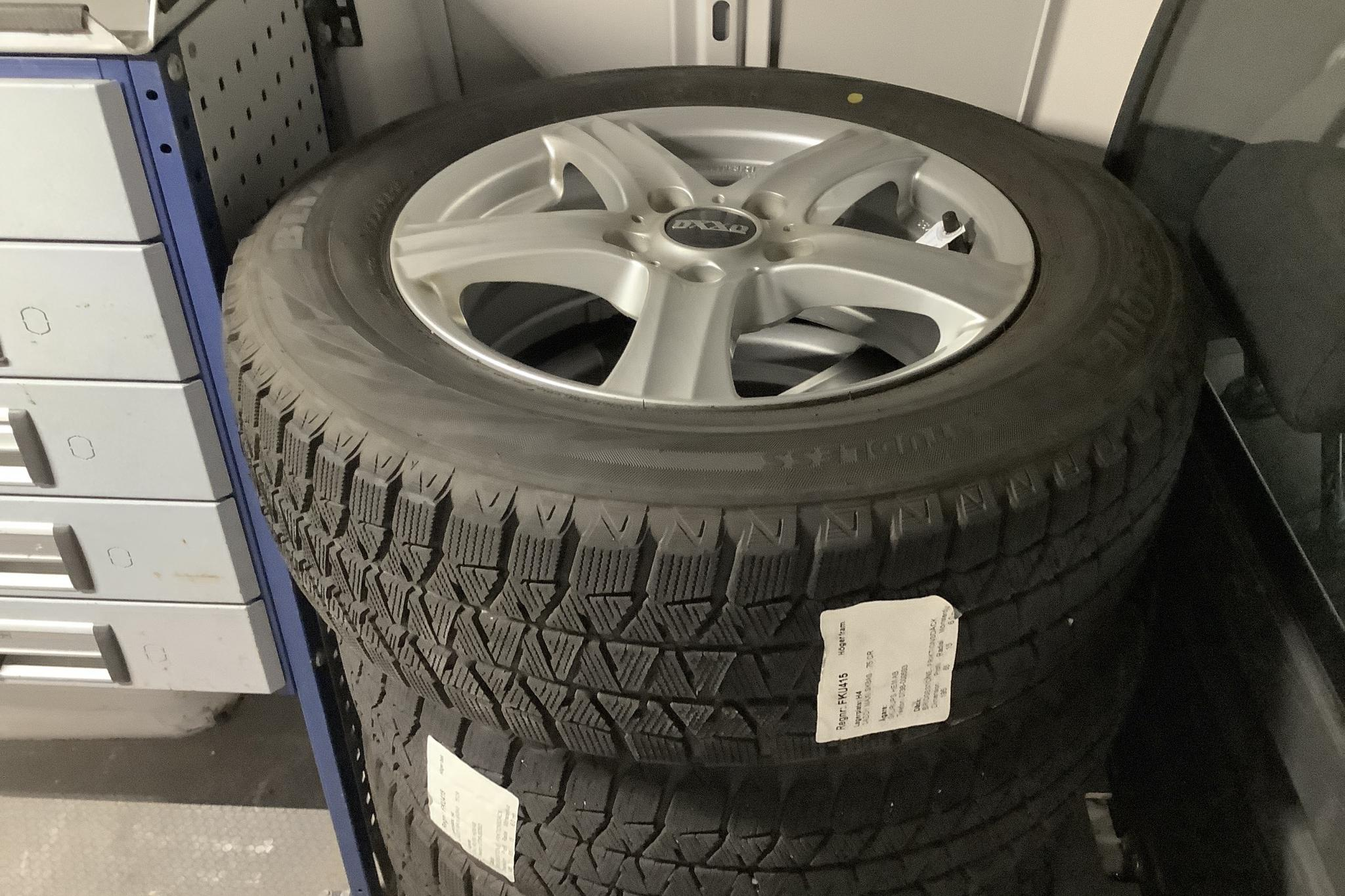 VW Caddy 2.0 TDI Maxi Skåp (102hk) - 3 744 mil - Manuell - vit - 2017