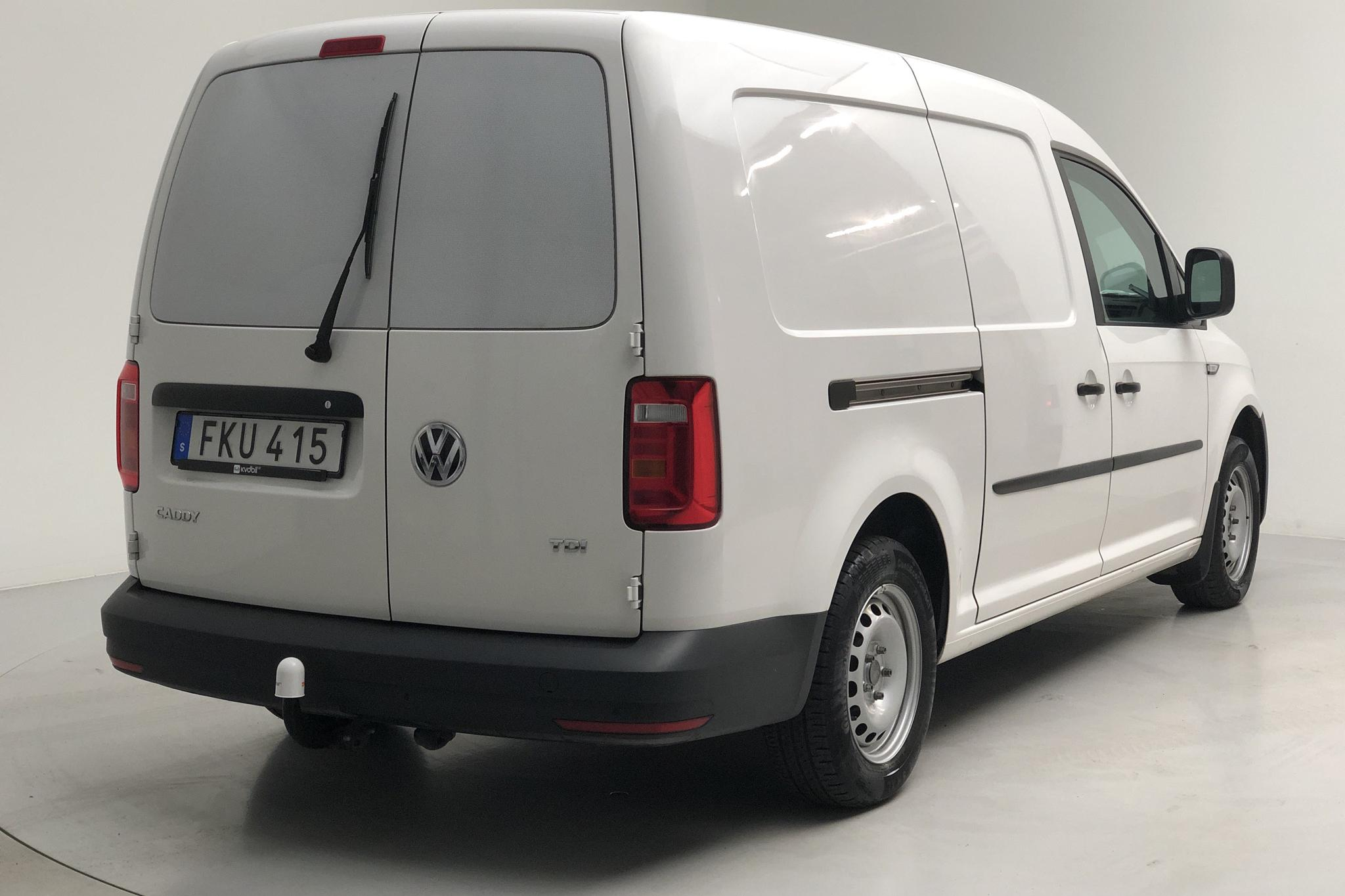 VW Caddy 2.0 TDI Maxi Skåp (102hk) - 37 440 km - Manual - white - 2017