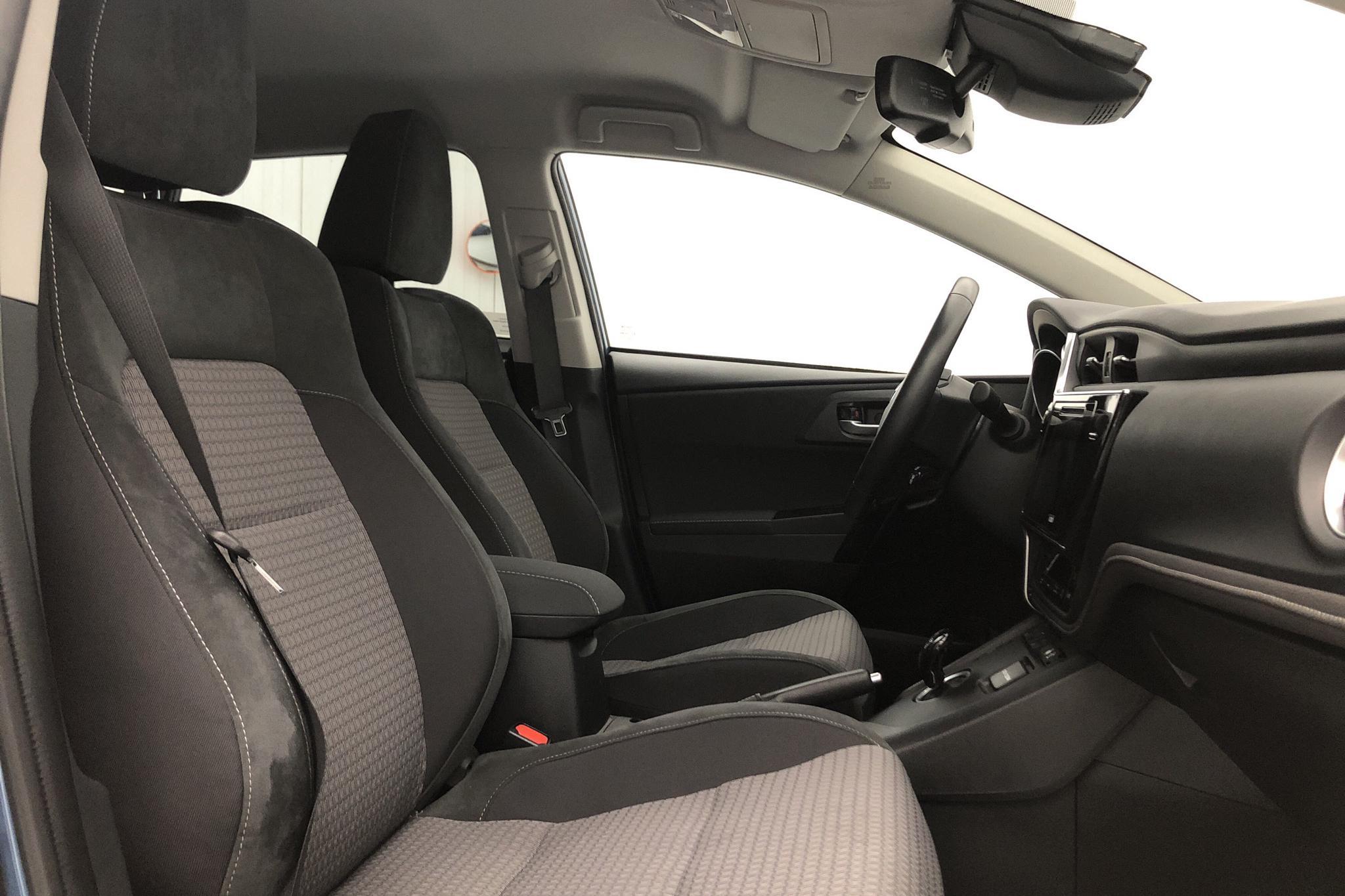 Toyota Auris 1.8 HSD 5dr (99hk) - 14 530 km - Automatic - blue - 2017