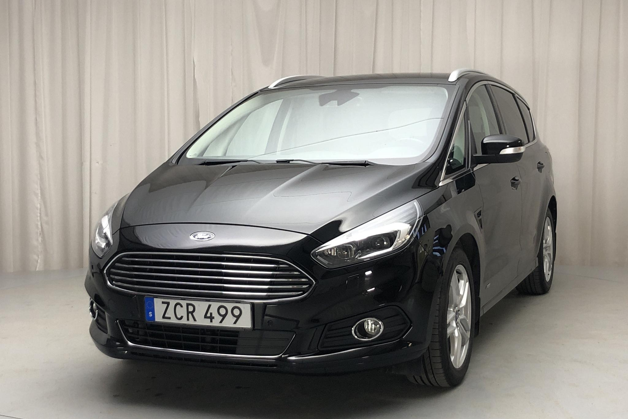 Ford S-MAX 2.0 TDCi AWD (180hk) - 62 290 km - Automatic - black - 2018