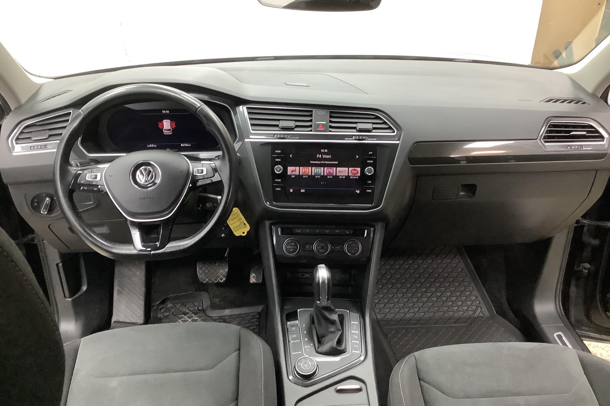 VW Tiguan 2.0 TDI 4MOTION (190hk) - 86 790 km - Automatic - black - 2018