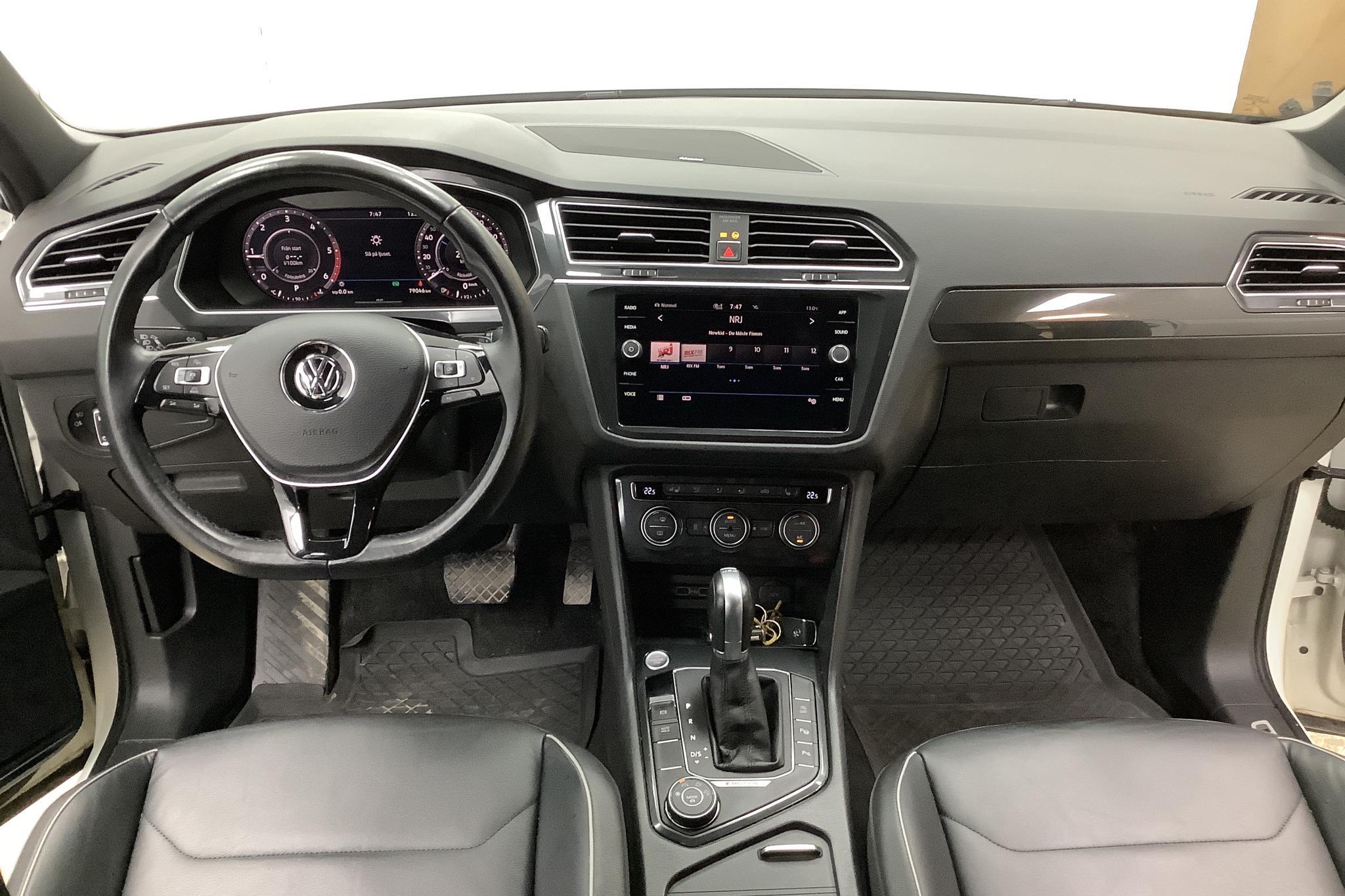 VW Tiguan 2.0 TDI 4MOTION (190hk) - 79 050 km - Automatic - white - 2018