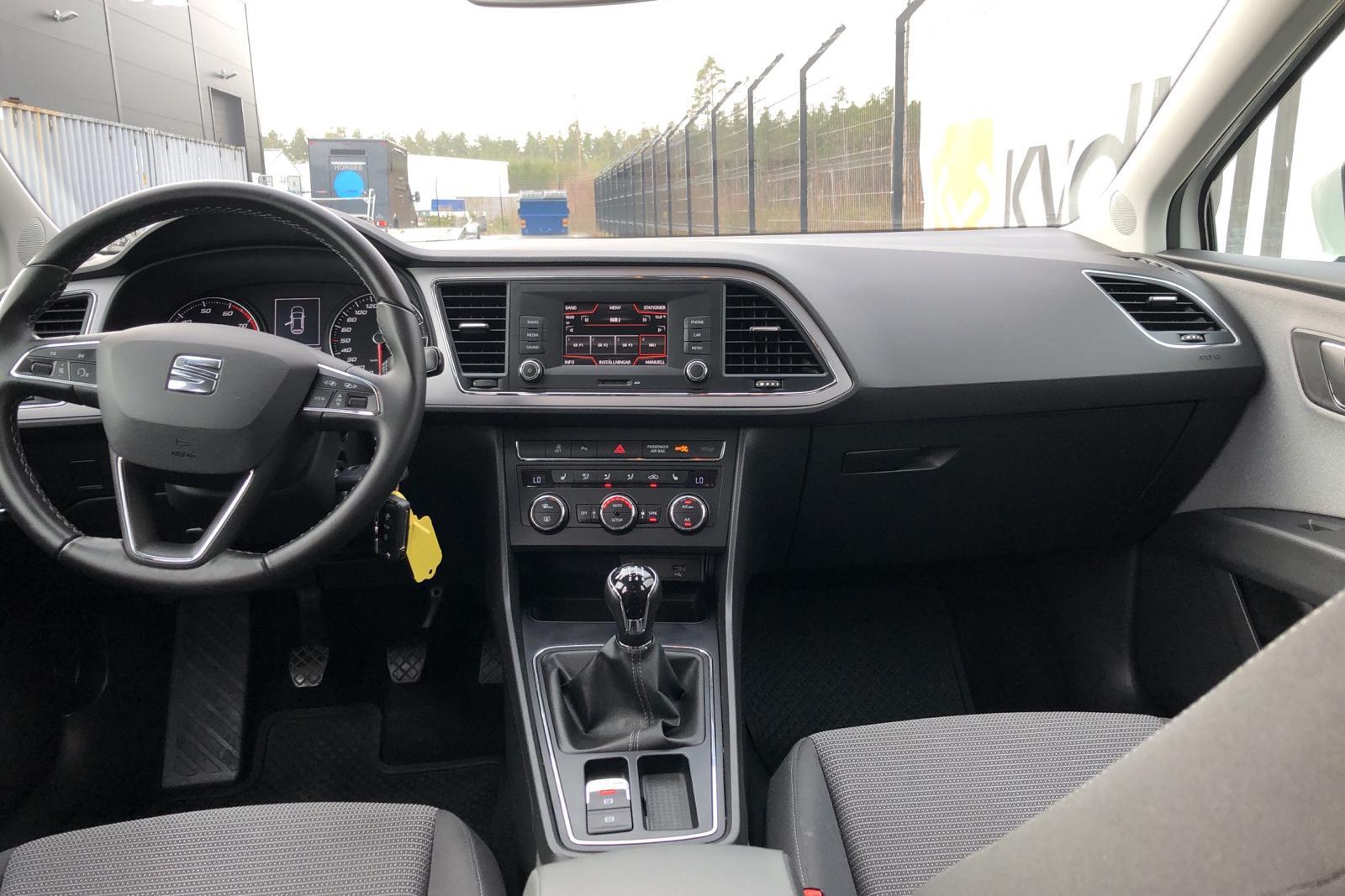 Seat Leon 1.2 TSI 5dr (110hk) - 26 300 km - Manual - white - 2018